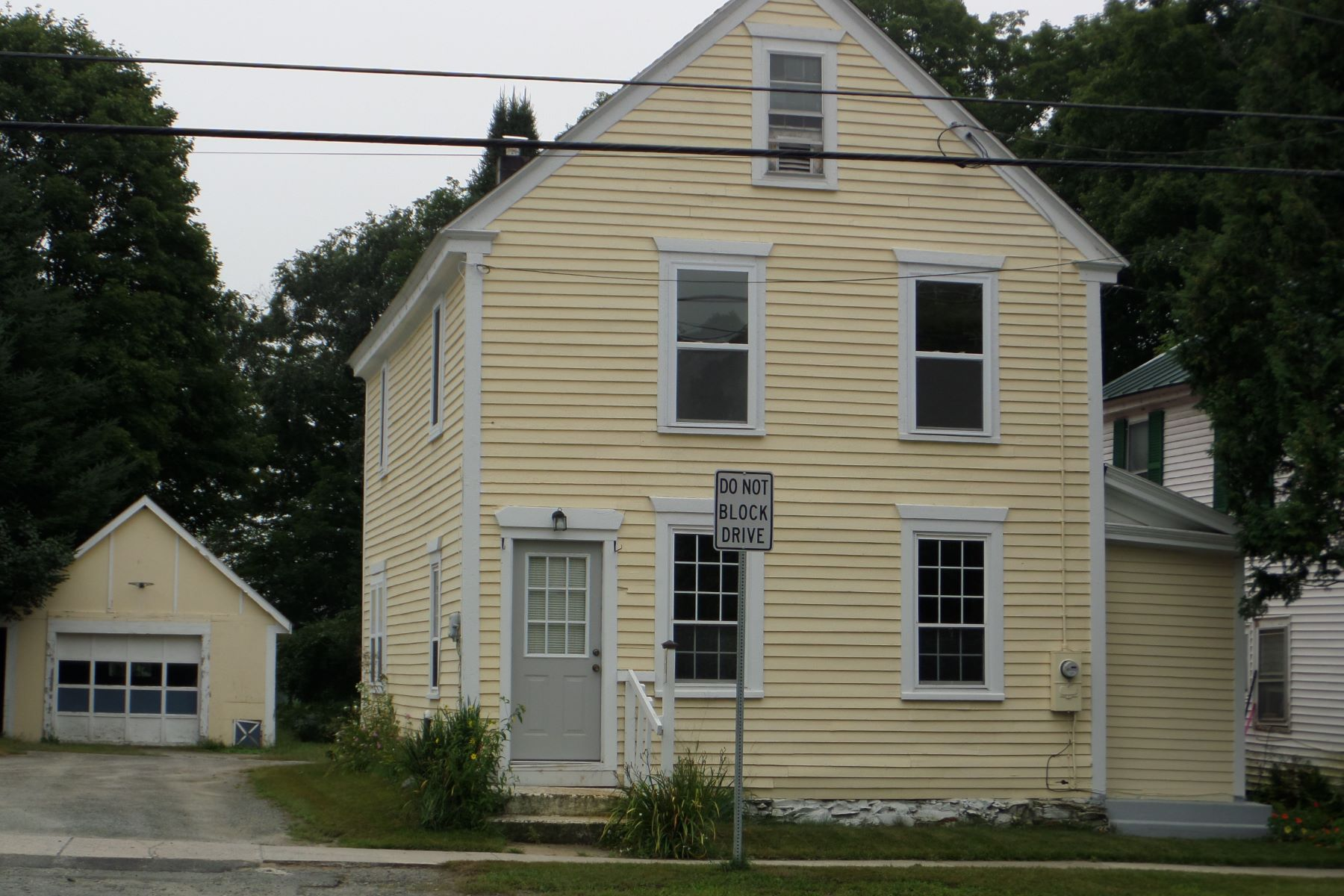 single family homes for Sale at Three Bedroom Colonial in Newbury 4999 Main St Newbury, Vermont 05051 United States