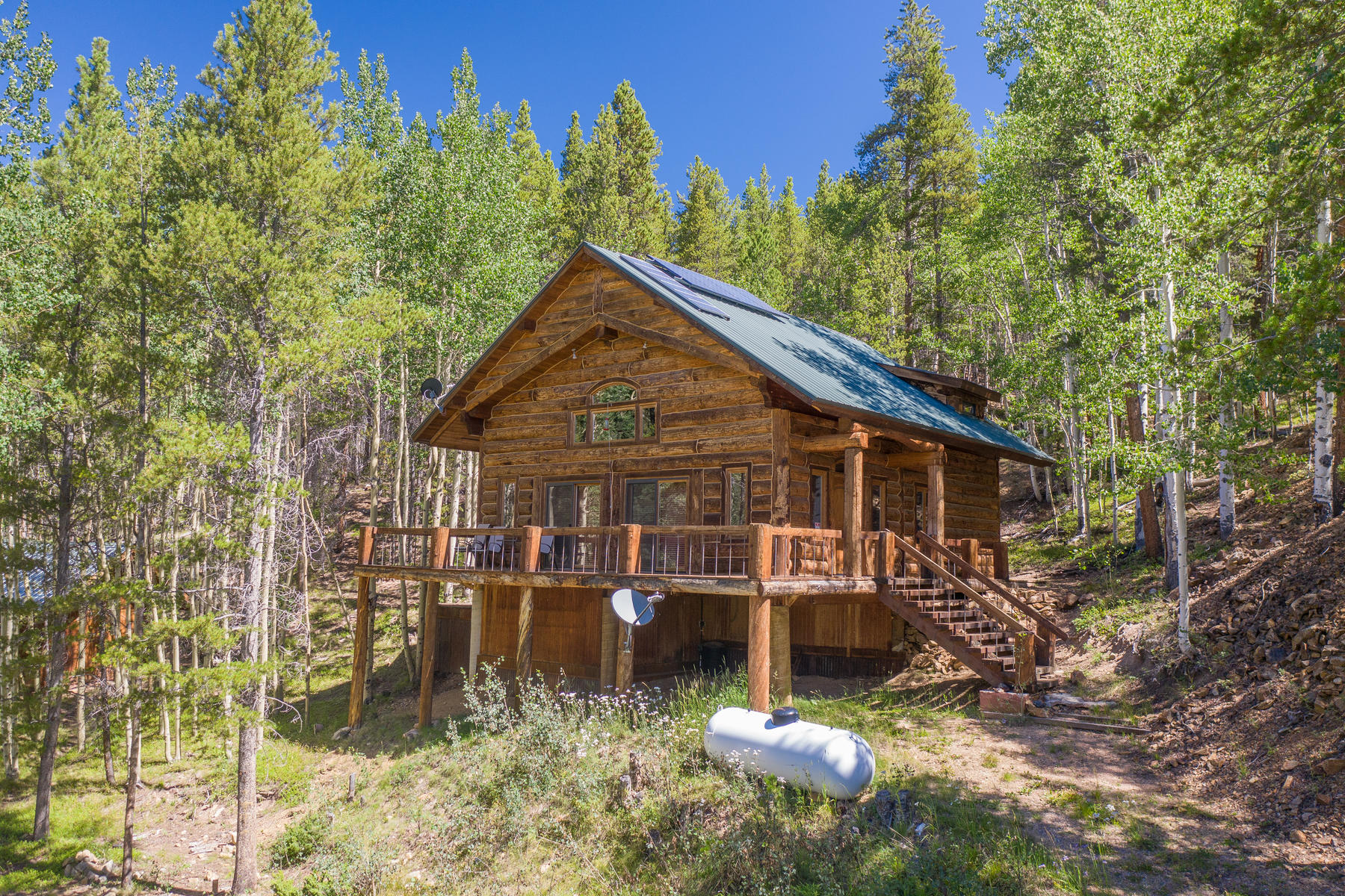 Single Family Homes for Active at Custom, Off-Grid Property 6100 County Road 763 Gunnison, Colorado 81230 United States