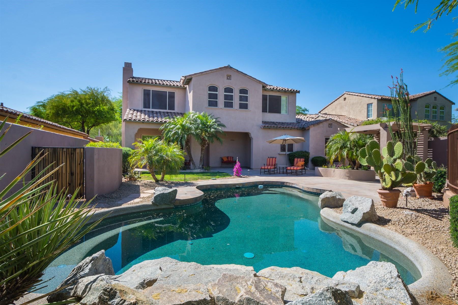 Casa Unifamiliar por un Venta en Popular Cordellina model in DC Ranch 9318 E Flathorn Dr Scottsdale, Arizona, 85255 Estados Unidos