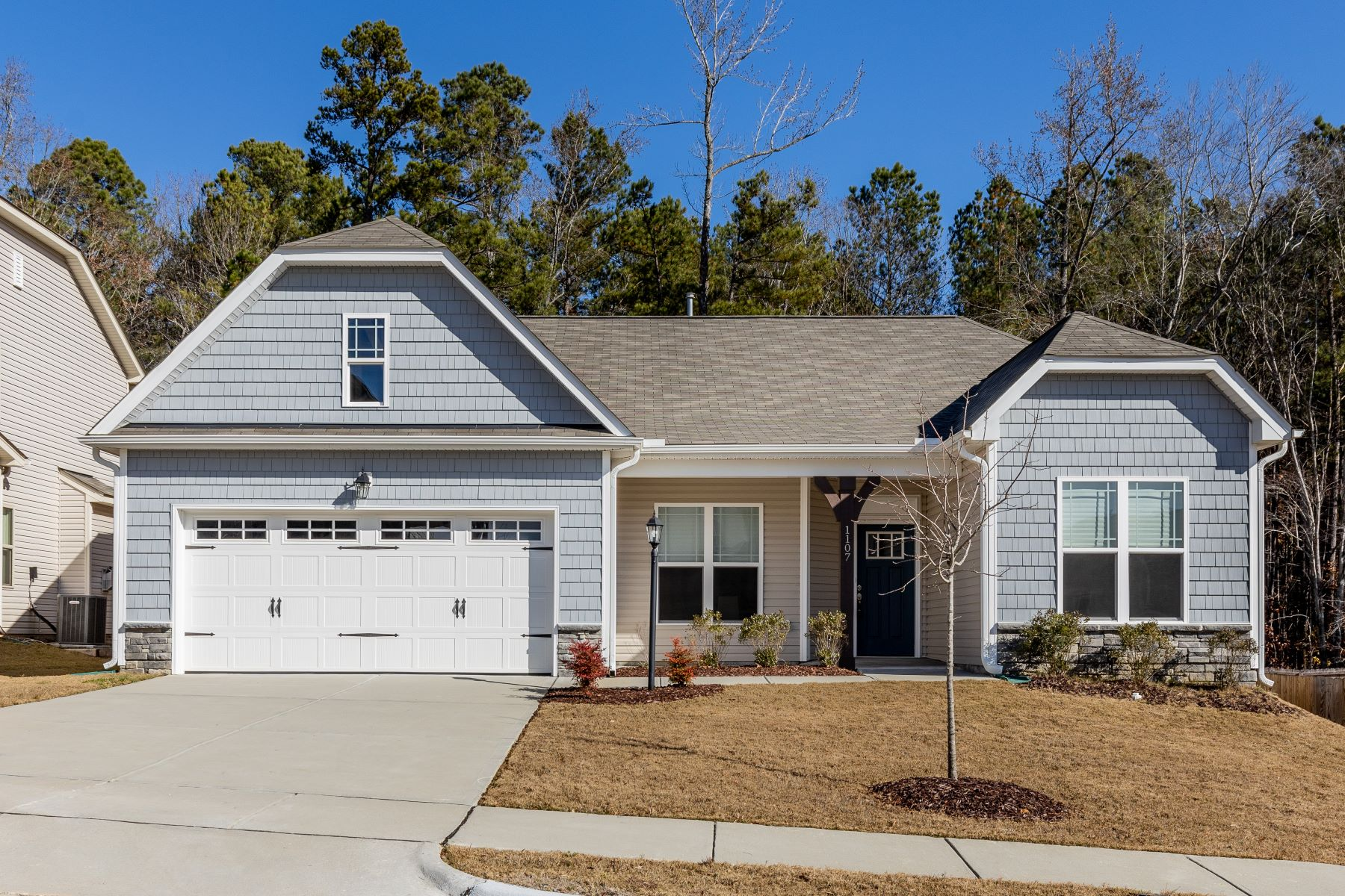 Single Family Homes for Sale at Easy One-Story Living in Knightdale 1107 Brook Bluff Road Knightdale, North Carolina 27545 United States
