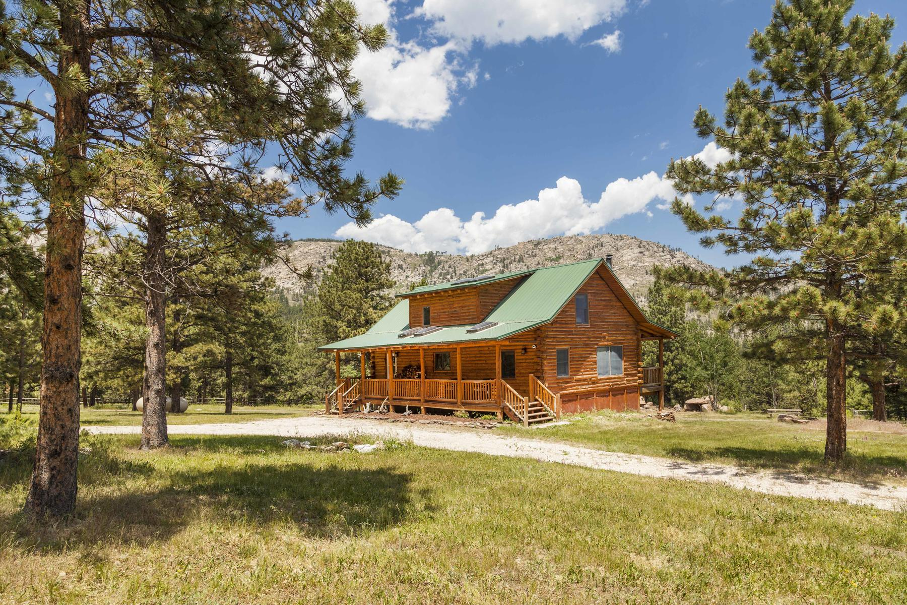Single Family Home for Active at The J Ranch 1155 Spruce Mountain Dr Drake, Colorado 80515 United States