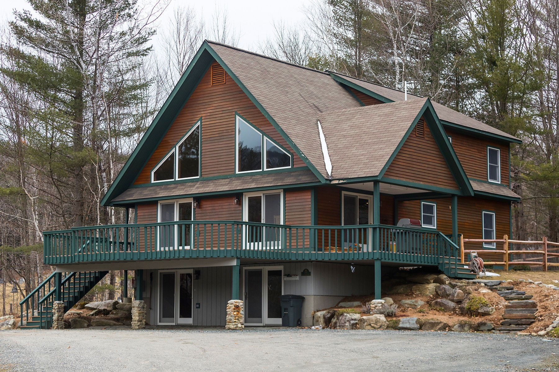 Single Family Home for Sale at Immaculately Maintained Home 194 Gold Coast Road Bridgewater, Vermont 05035 United States