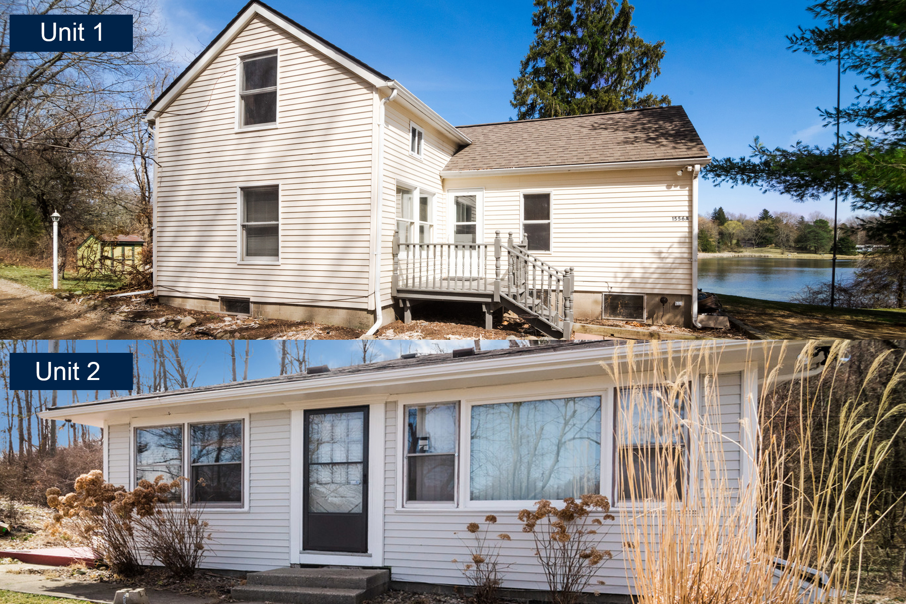 Single Family Homes for Sale at Addison Township 1556 Rochester Road Addison Township, Michigan 48367 United States