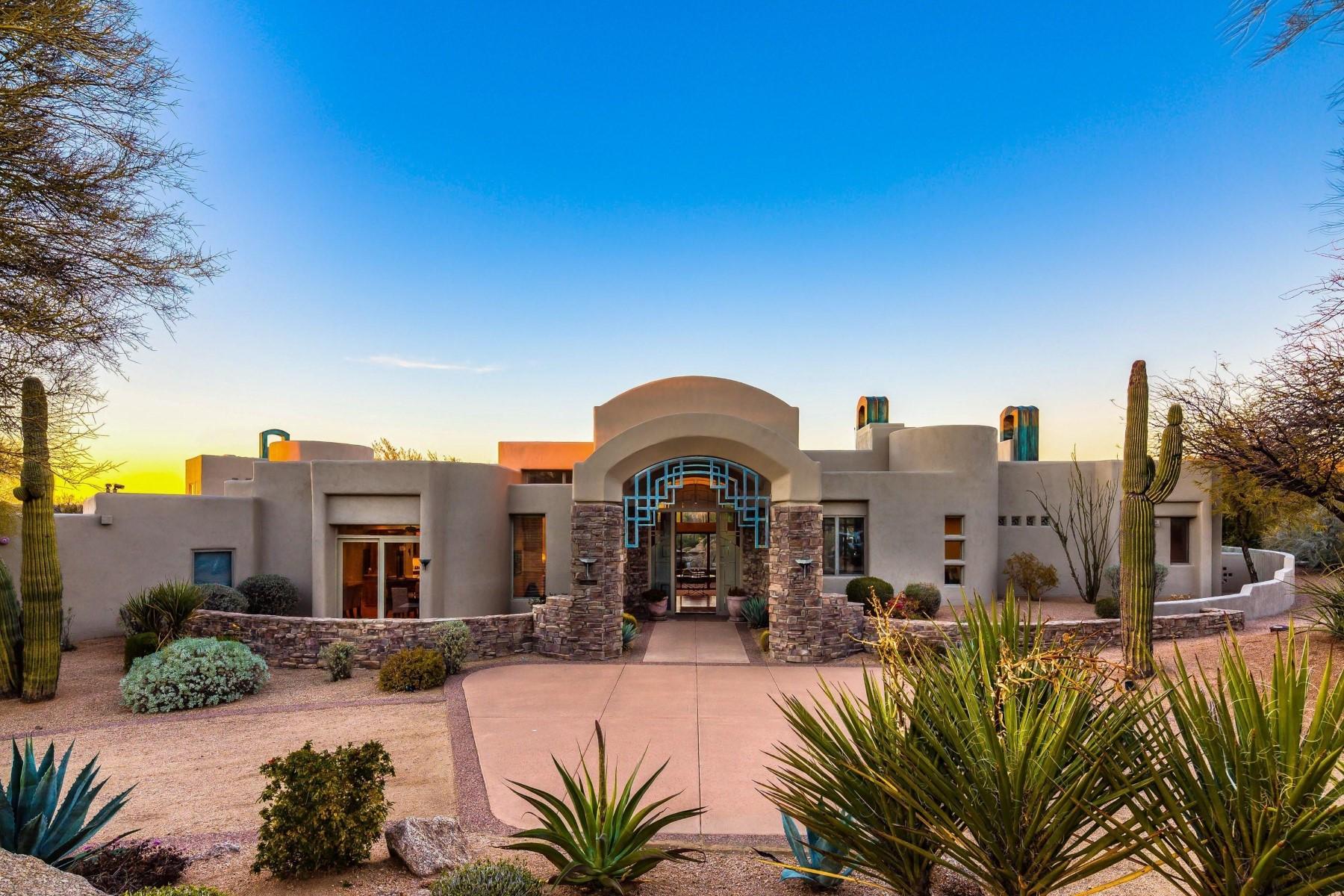 独户住宅 为 销售 在 Candlewood Estates At Troon North 10546 E Monument Dr, 斯科茨代尔, 亚利桑那州, 85262 美国