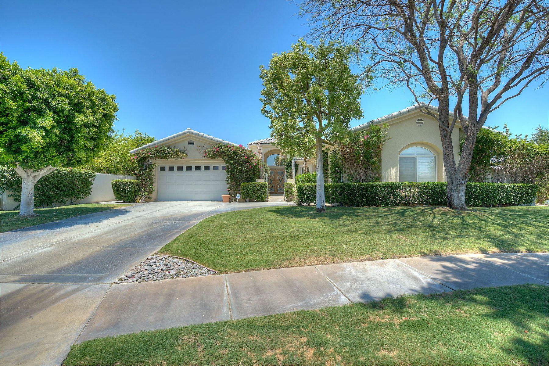 独户住宅 为 销售 在 52 Sherwood Rd Rancho Mirage, 加利福尼亚州, 92270 美国