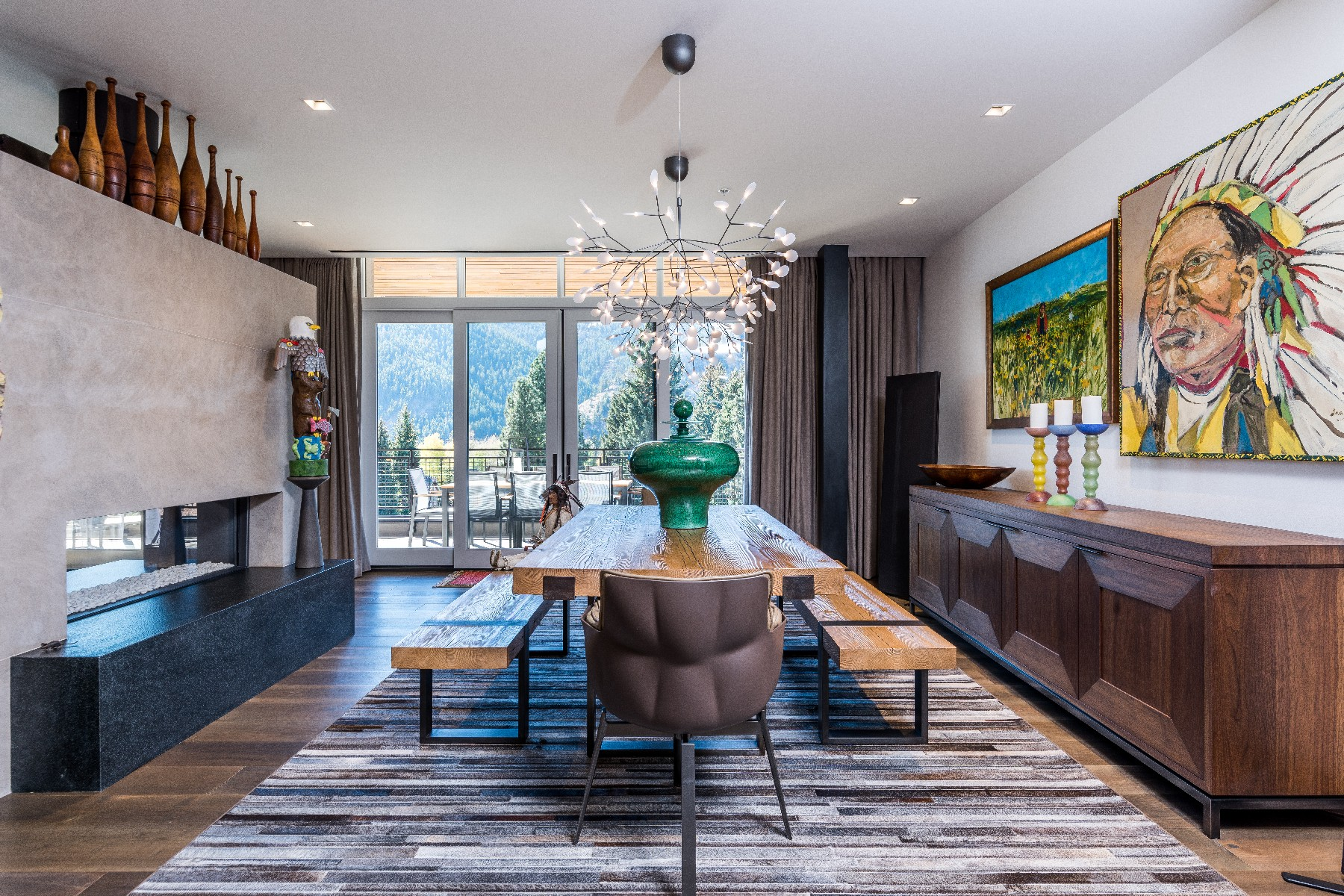 Condominiums for Active at Premier West-Facing Limelight Hotel Residence 150 S. Main St Unit 409 Ketchum, Idaho 83340 United States