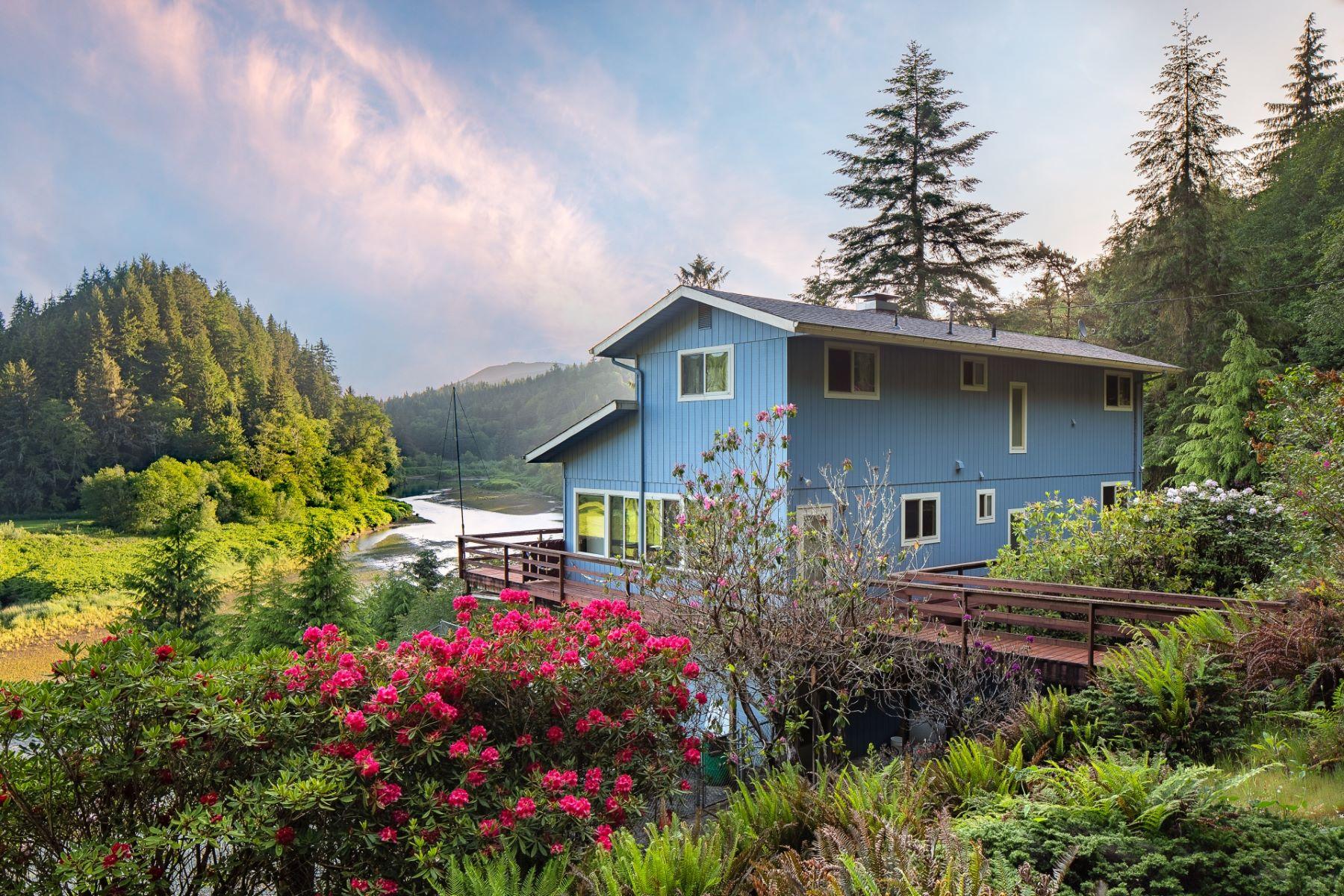 Single Family Homes pour l Vente à Nehalem, Oregon 97131 États-Unis
