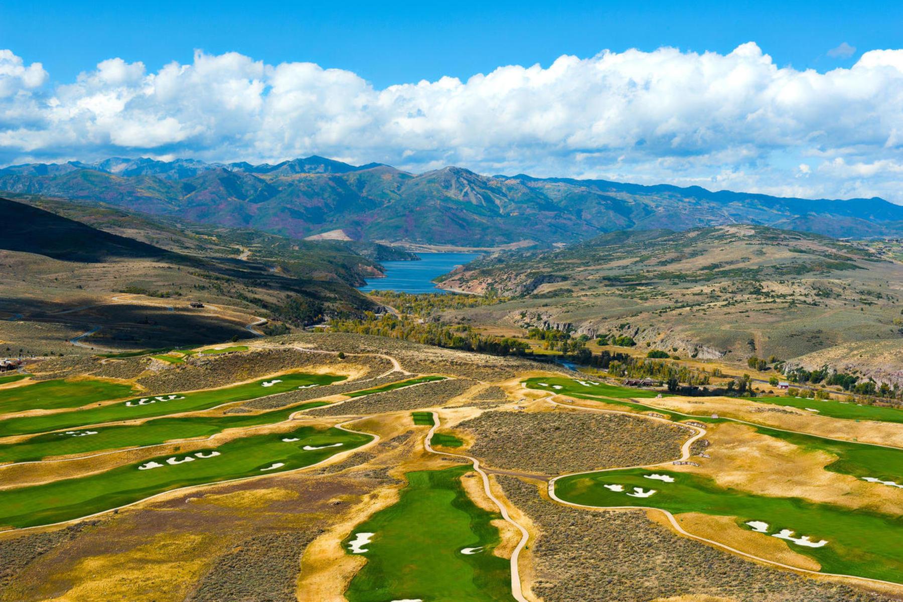 Terreno para Venda às Gorgeous Panoramic Views at Victory Ranch 6090 E Blue Wing Lp Lot 73 Heber City, Utah, 84032 Estados Unidos
