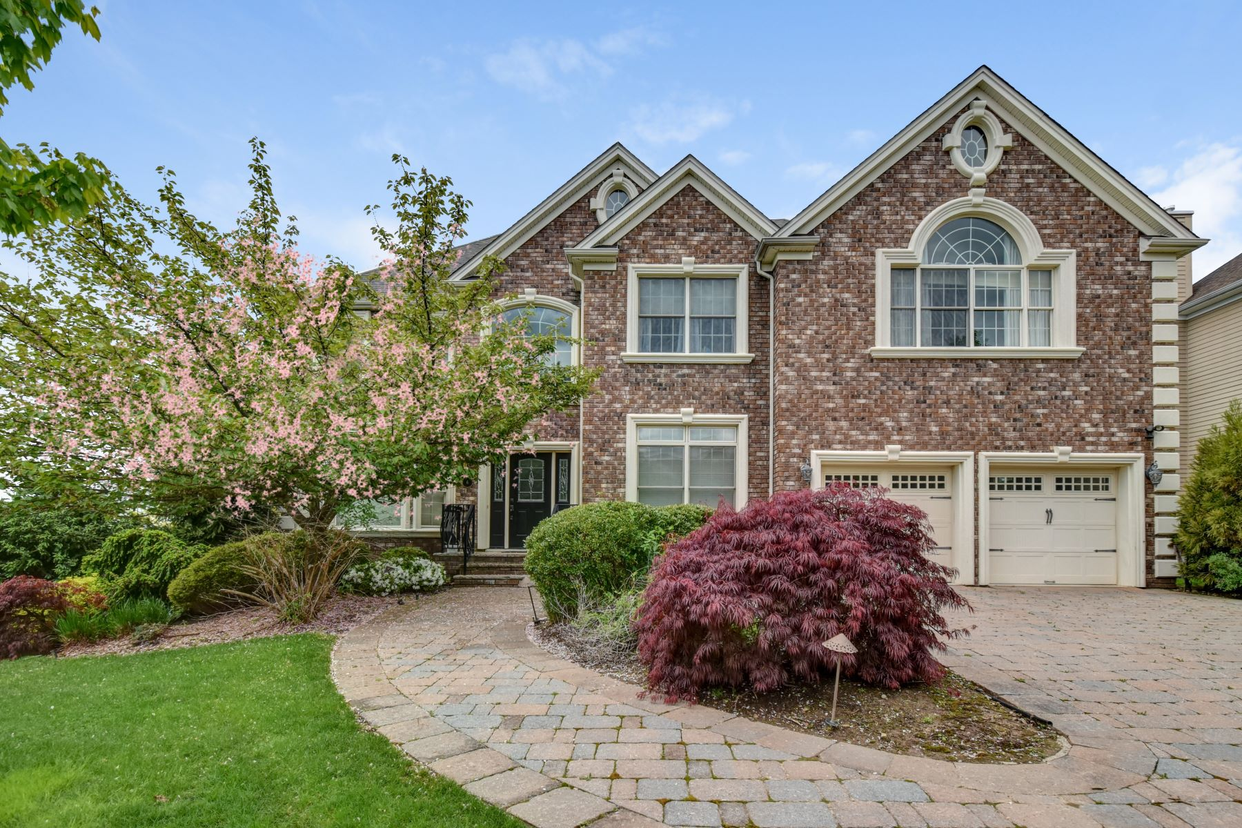 Single Family Homes for Sale at Hillside Heights Custom Colonial 6 Marisa Court Livingston, New Jersey 07039 United States