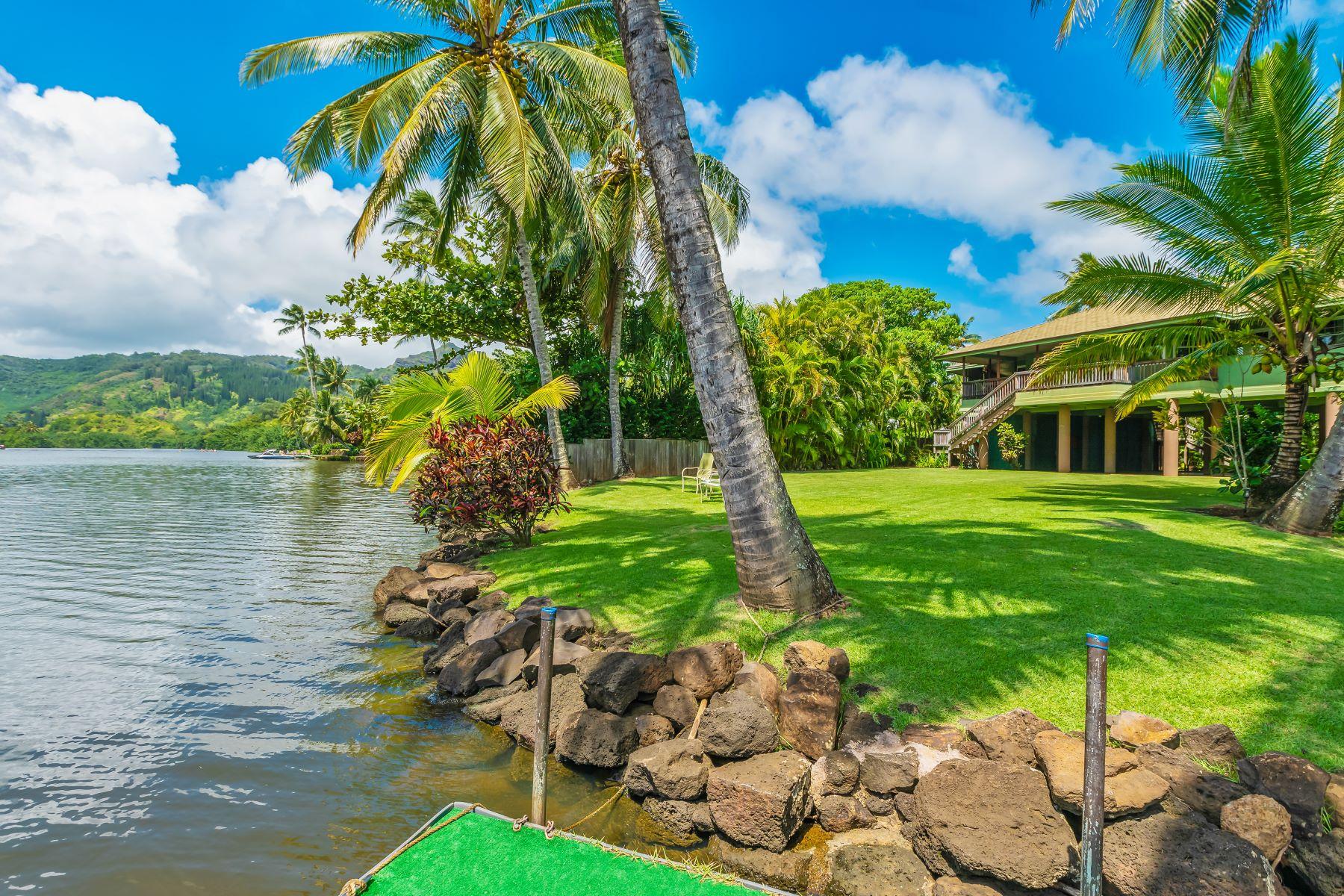 Other Residential Homes per Vendita alle ore 161 Wailua Rd. Kappa HI Kapaa, Hawaii 96746 Stati Uniti