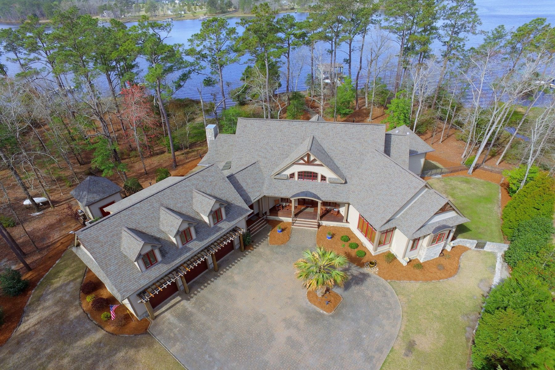 Single Family Homes for Active at Stunning Custom Waterfront Home on Dawson Creek 161 Cape Hatteras Point Oriental, North Carolina 28571 United States