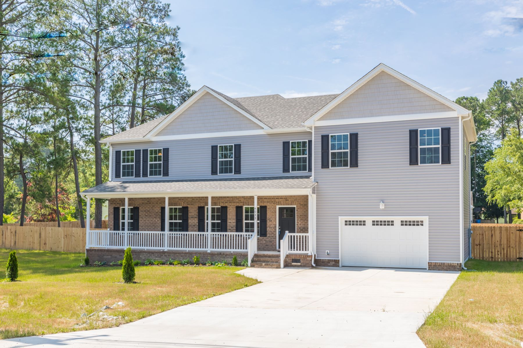 Single Family Homes for Sale at Western Branch 4033 Woodland Drive Chesapeake, Virginia 23321 United States