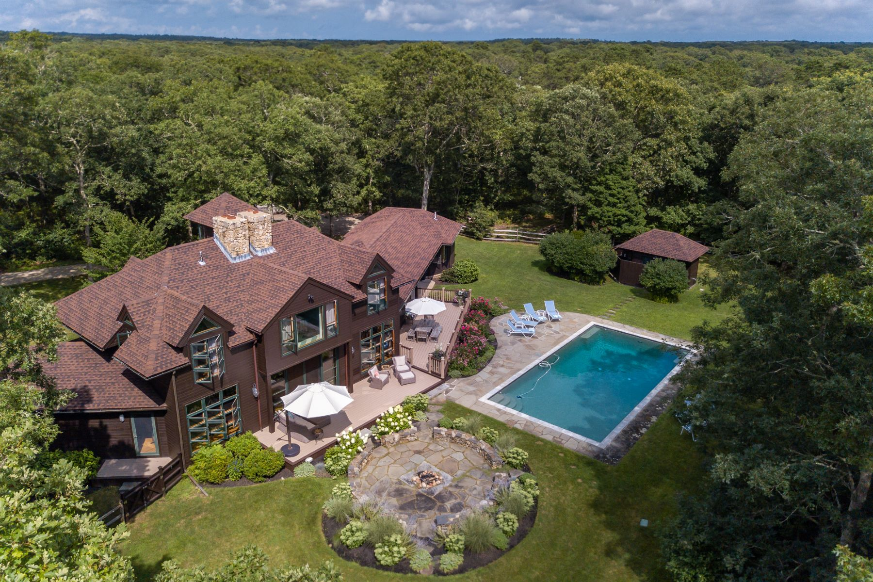 Single Family Homes for Active at Finely crafted West Tisbury Estate on 11.95 acres 25 Flint Hill Road West Tisbury, Massachusetts 02575 United States