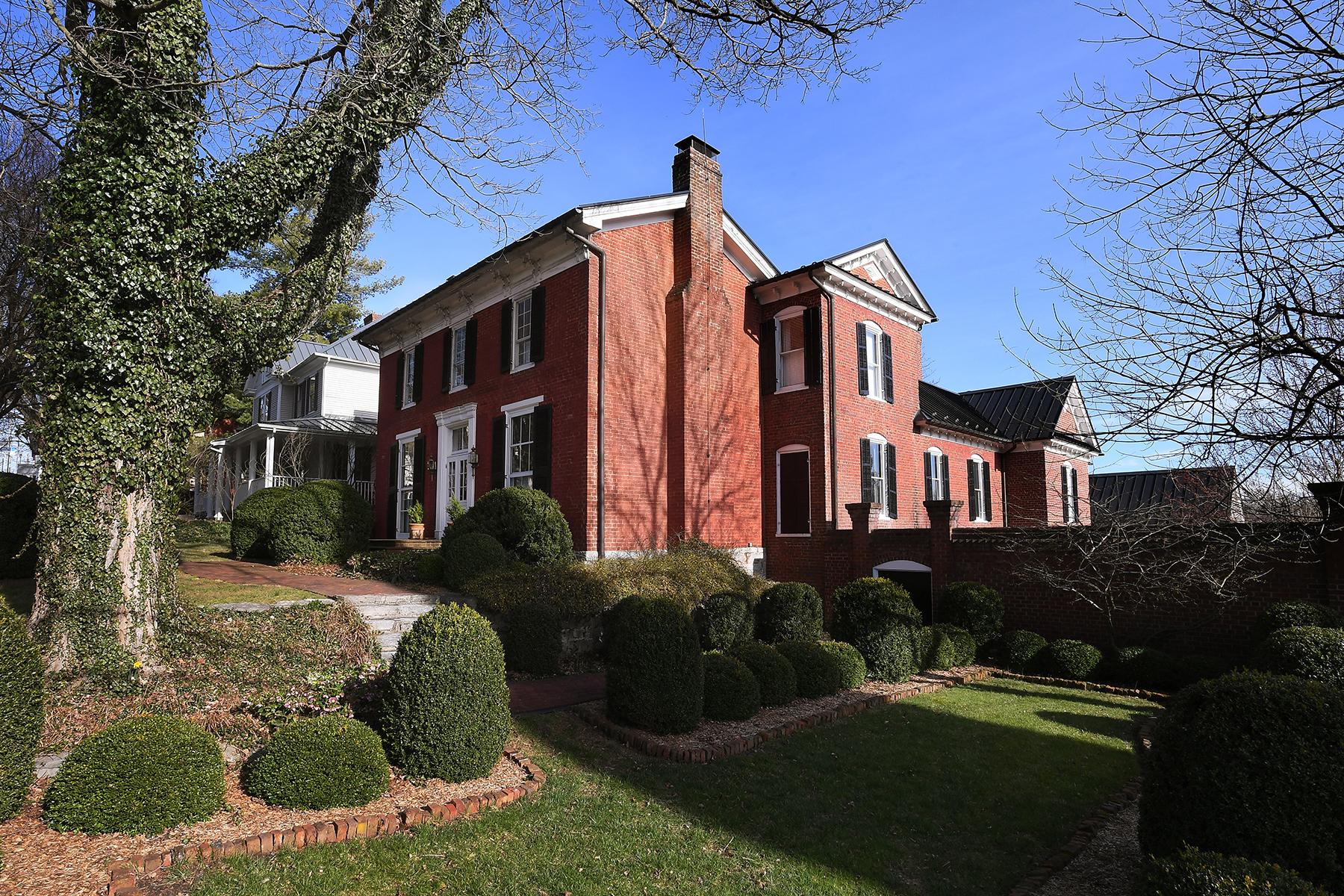 single family homes для того Продажа на ABINGDON 142 E Main St Abingdon, Виргиния 24210 Соединенные Штаты