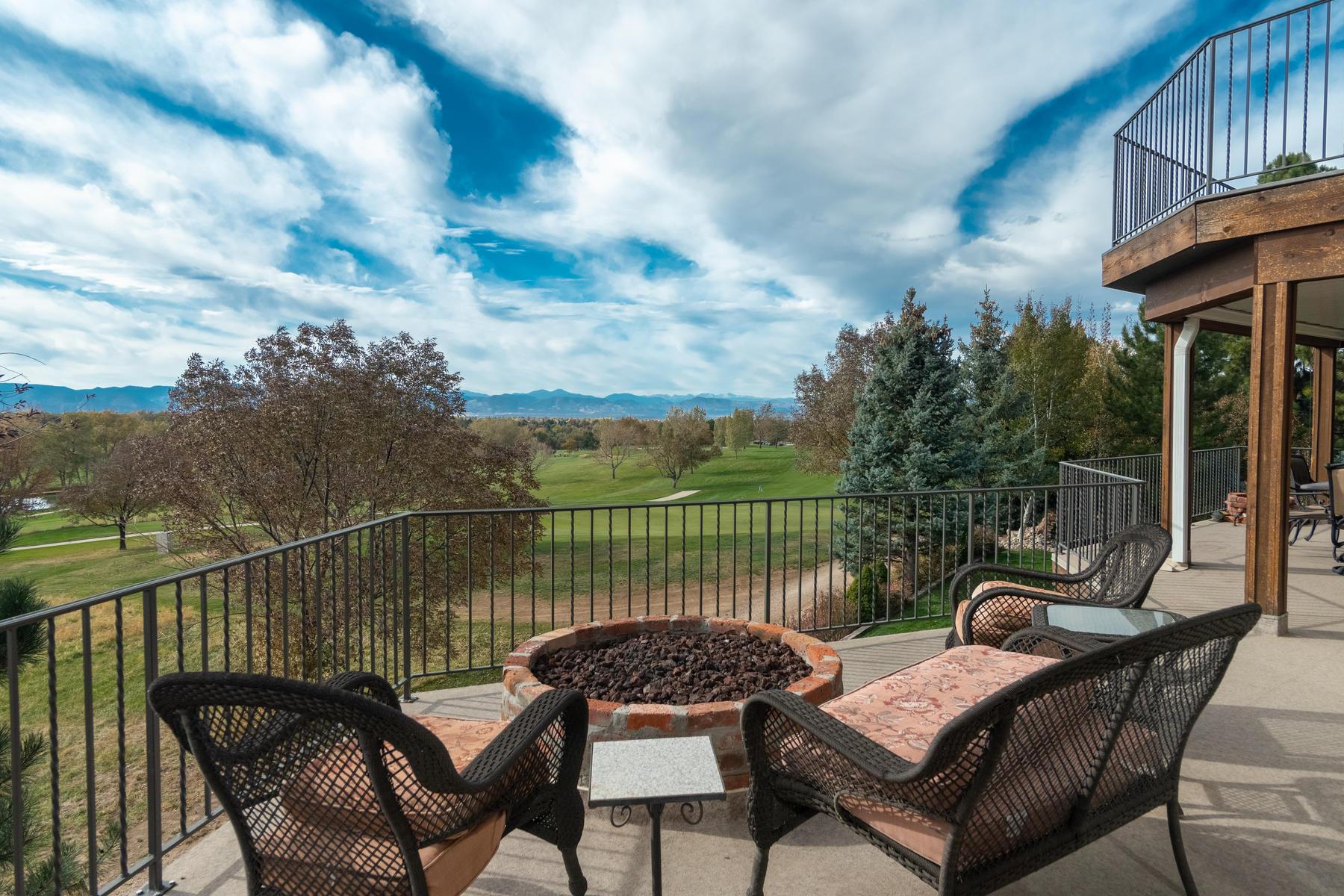 Single Family Homes for Sale at Views of South Suburban Golf Course! 7921 S Eudora Circle Centennial, Colorado 80122 United States