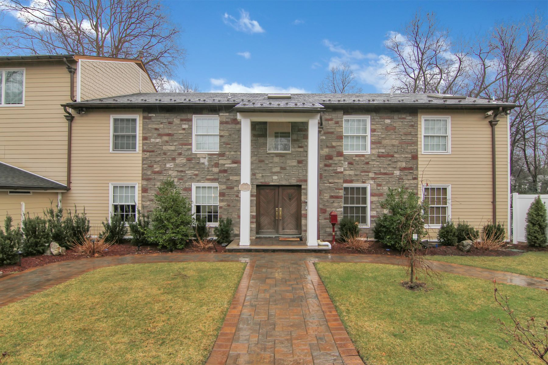 Single Family Home for Sale at Stunning Center Hall Colonial 201 Allison Court Englewood, New Jersey 0763 United States