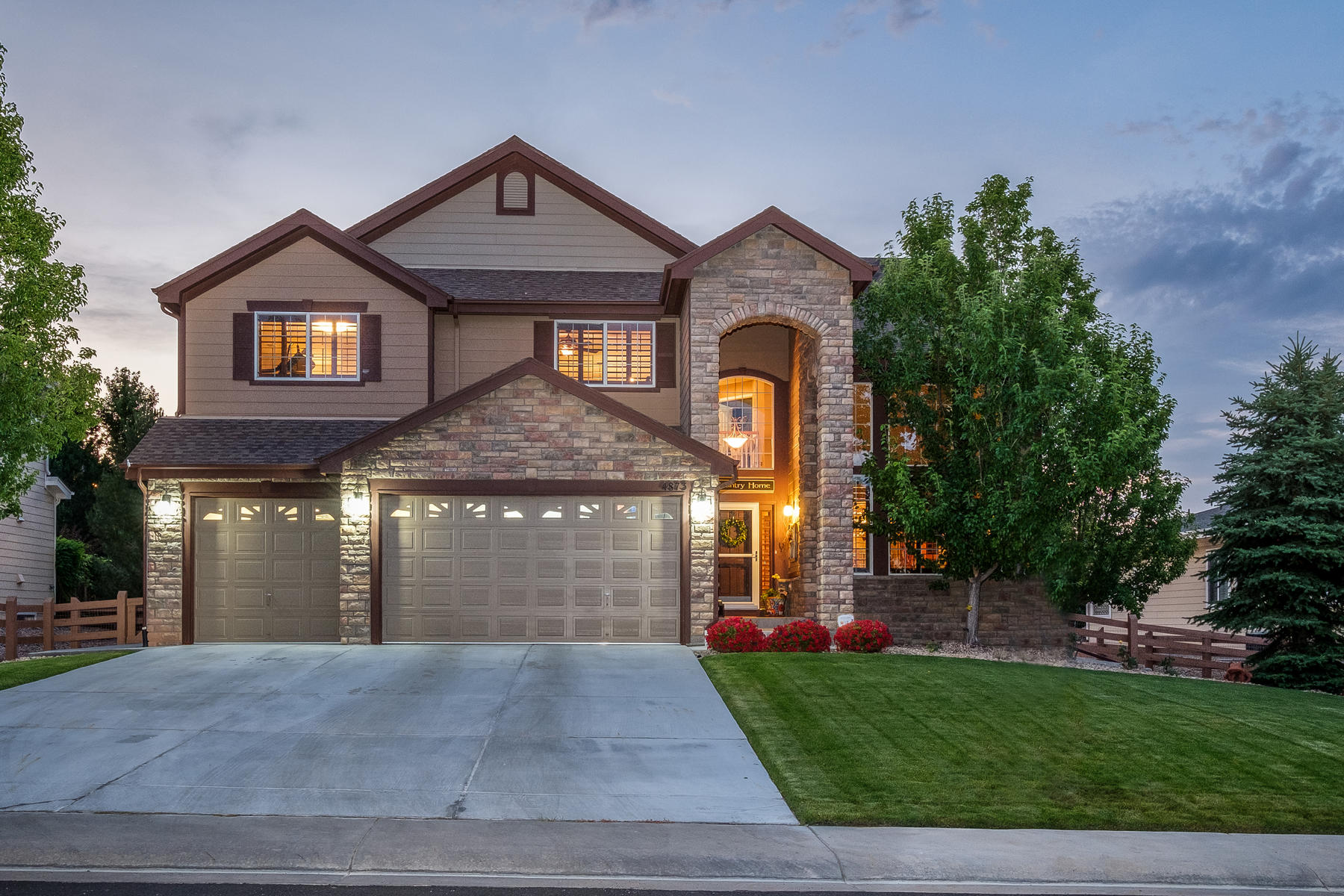 Single Family Home for Active at Best in show- 5 star rating 4873 Wagontrail Ct Parker, Colorado 80134 United States