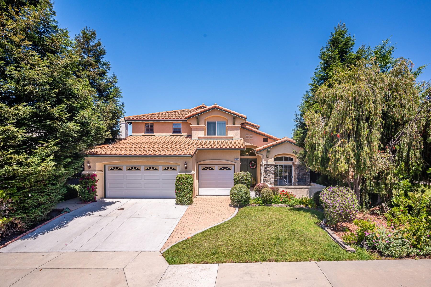 Single Family Homes for Sale at Spacious SLO Home 962 Goldenrod Lane San Luis Obispo, California 93401 United States