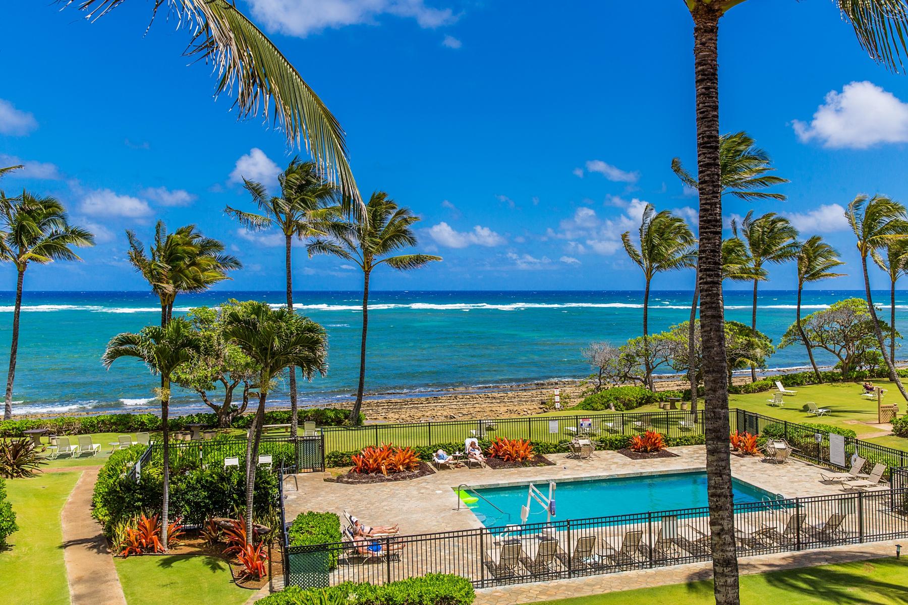 共管物業 為 出售 在 Kapaa Shores 4-900 Kuhio Hwy #318 Kapaa, 夏威夷 96746 美國