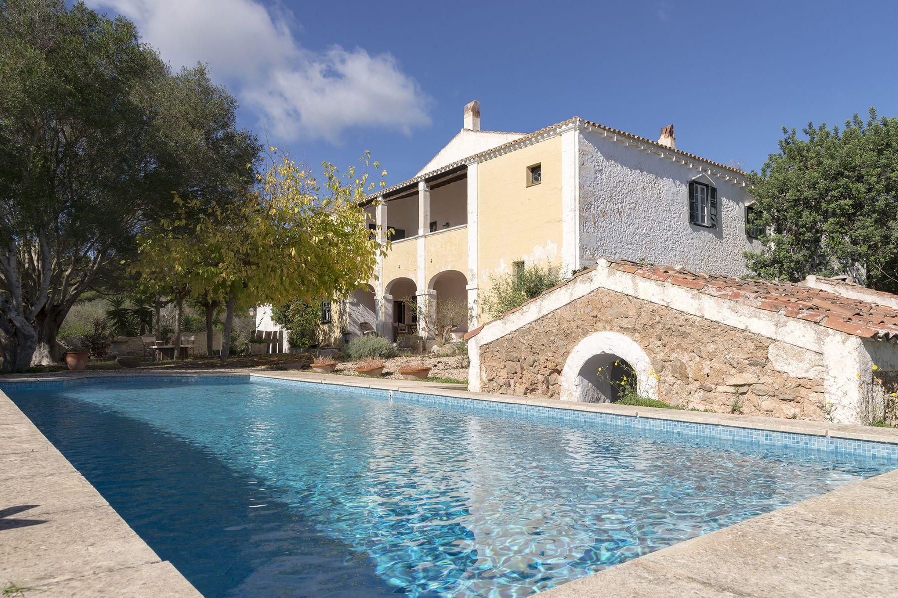 獨棟家庭住宅 為 出售 在 Distinguished and isolated Menorcan property Menorca, 梅諾卡島, 西班牙