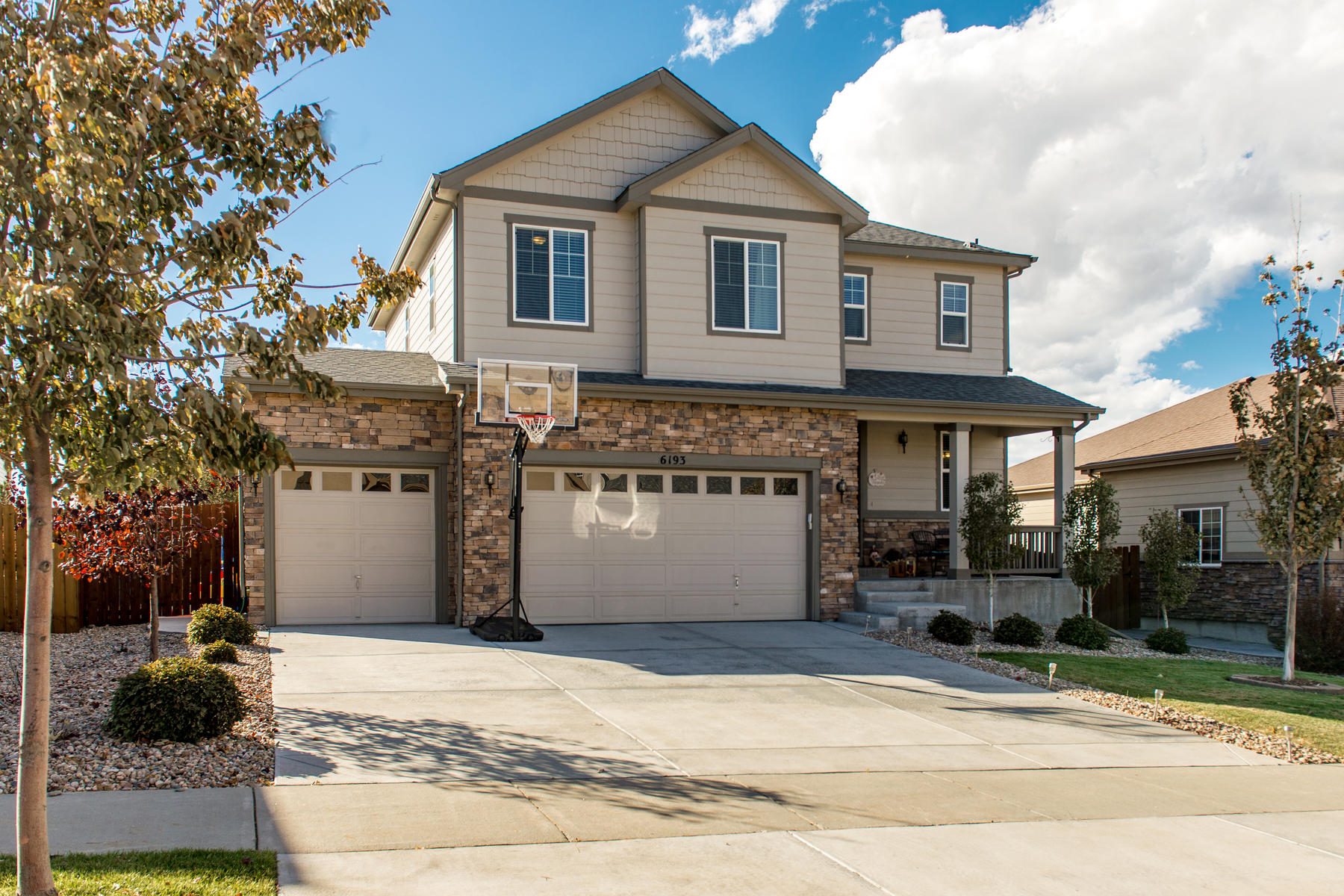 Single Family Home for Active at 6193 S Jackson Gap Ct 6193 S Jackson Gap Ct Aurora, Colorado 80016 United States