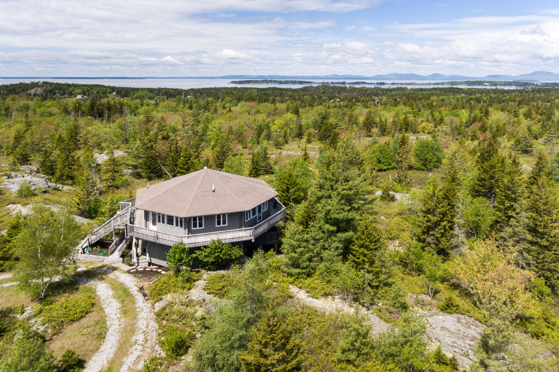 Single Family Home for Sale at 29 Middle Mountain Road Vinalhaven, Maine 04863 United States