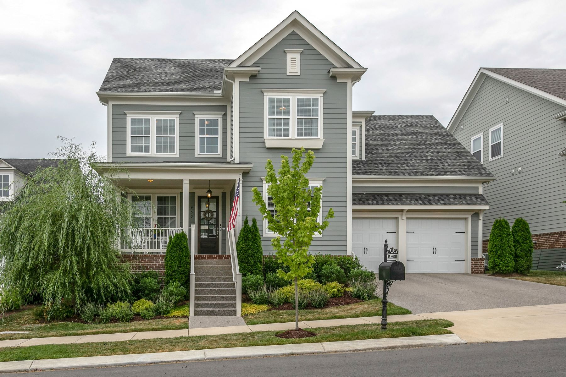 single family homes for Sale at Gorgeous, Almost New Home! 430 Alfred Ladd Road Franklin, Tennessee 37064 United States