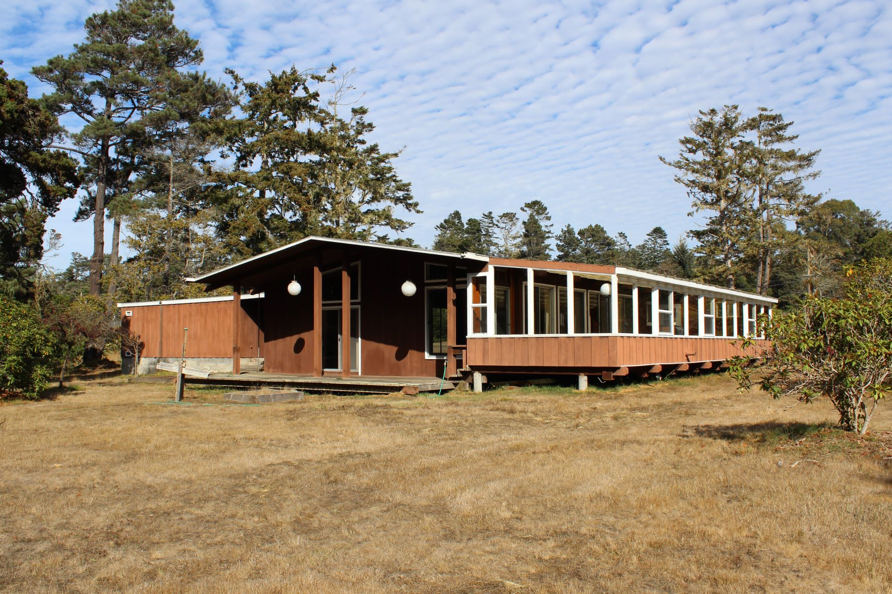 Single Family Home for Sale at Mid-Century Jewel 24650 Ward Avenue Fort Bragg, California 95437 United States