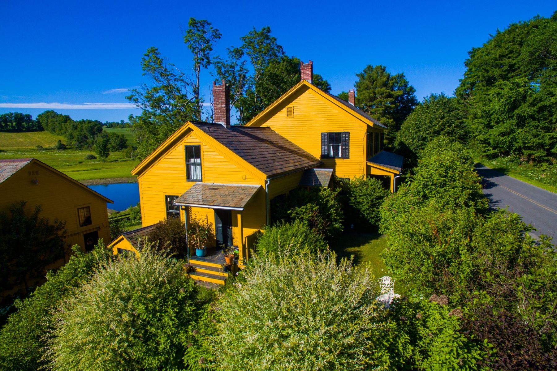 Single Family Homes for Active at Idyllic Upstate NY Farm 1189 Chamberlain Mills Rd Salem, New York 12865 United States