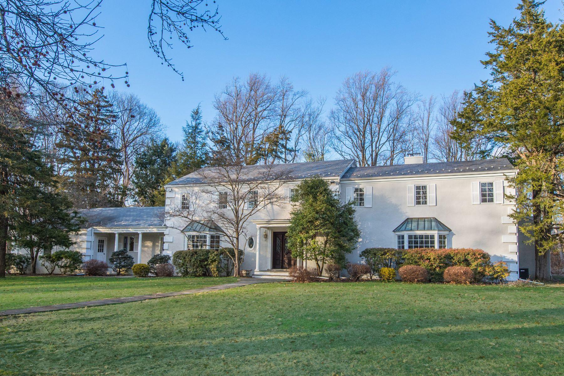 Single Family Homes por un Venta en Stately Seven Bedroom Colonial 20 Spencer Place Harding Township, Nueva Jersey 07960 Estados Unidos