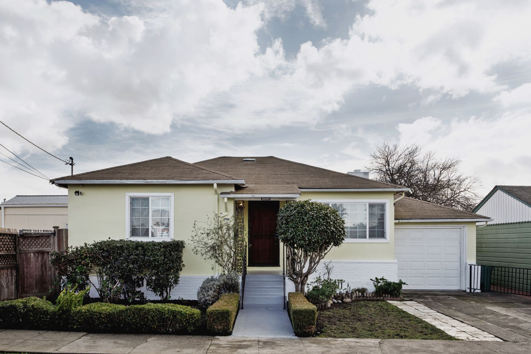 Single Family Homes for Sale at Bungalow With Detached In-Law Studio 2210 Visalia Avenue Richmond, California 94801 United States