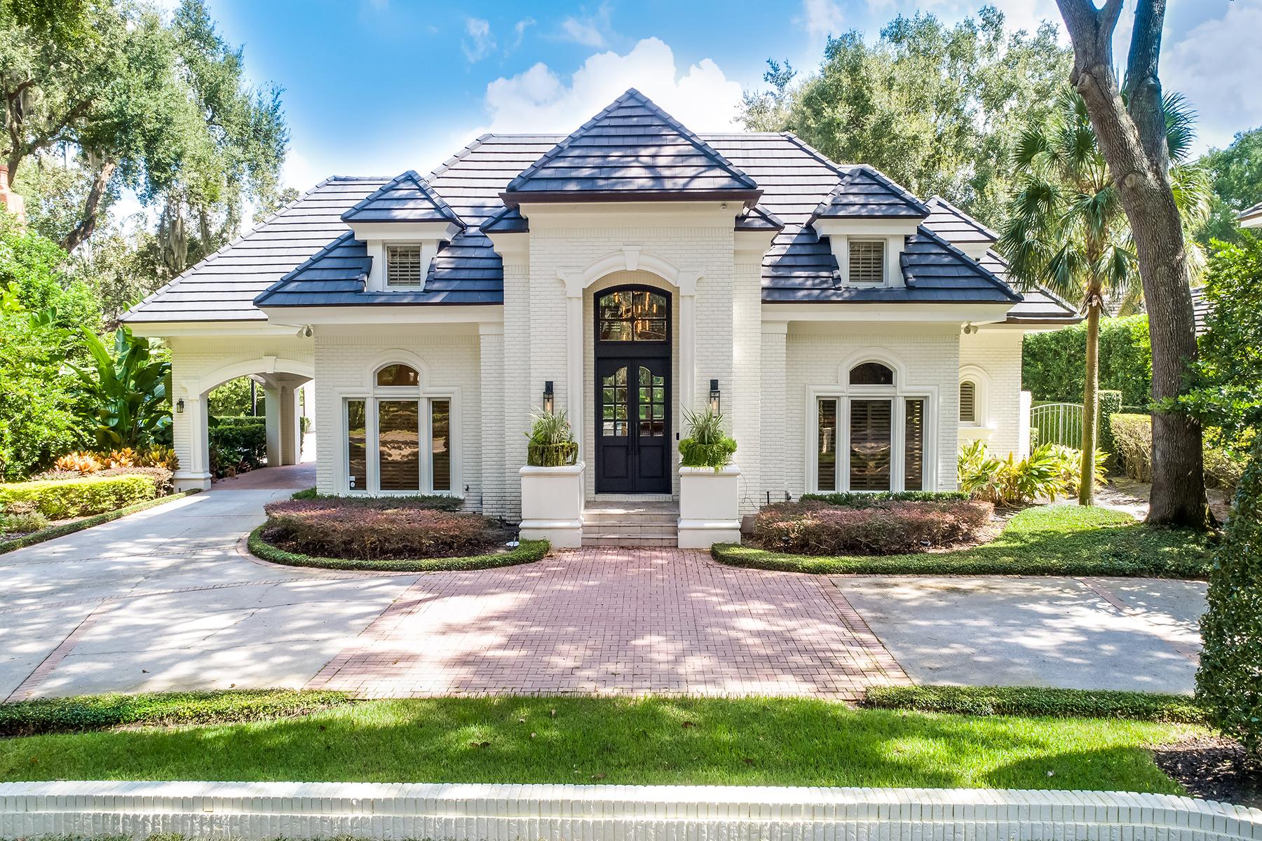 Single Family Homes por un Venta en WINTER PARK 1260 Alabama Dr, Winter Park, Florida 32789 Estados Unidos