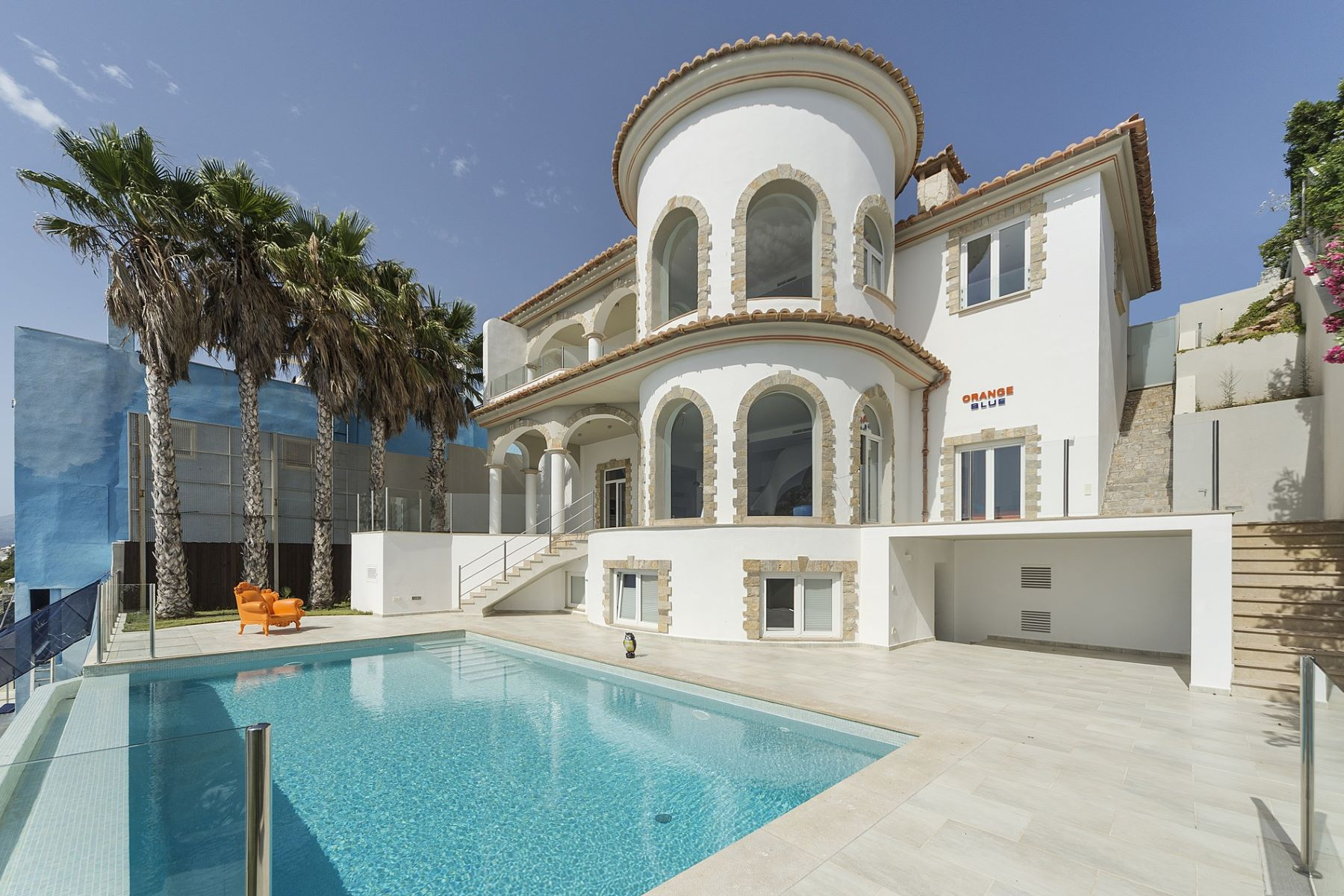 独户住宅 为 销售 在 First-line luxury villa with breathtaking sea view Port Adriano, 巴利阿里群岛, 西班牙