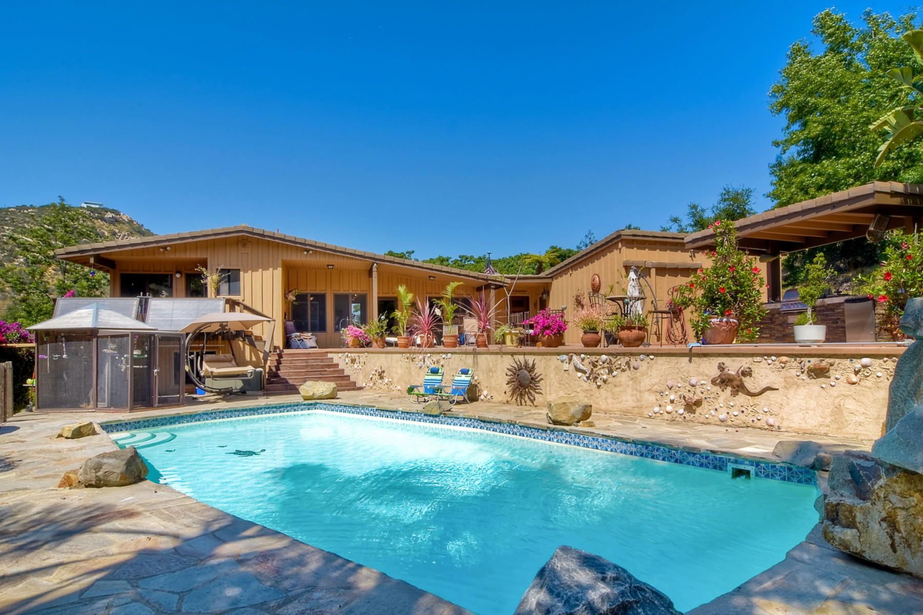 独户住宅 为 销售 在 9151 Mount Israel 埃斯孔迪多, 加利福尼亚州, 92029 美国