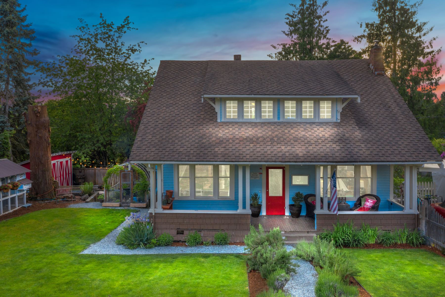 Single Family Homes por un Venta en Exclusive Historic Craftsman 1220 Pine Ave, Snohomish, Washington 98290 Estados Unidos