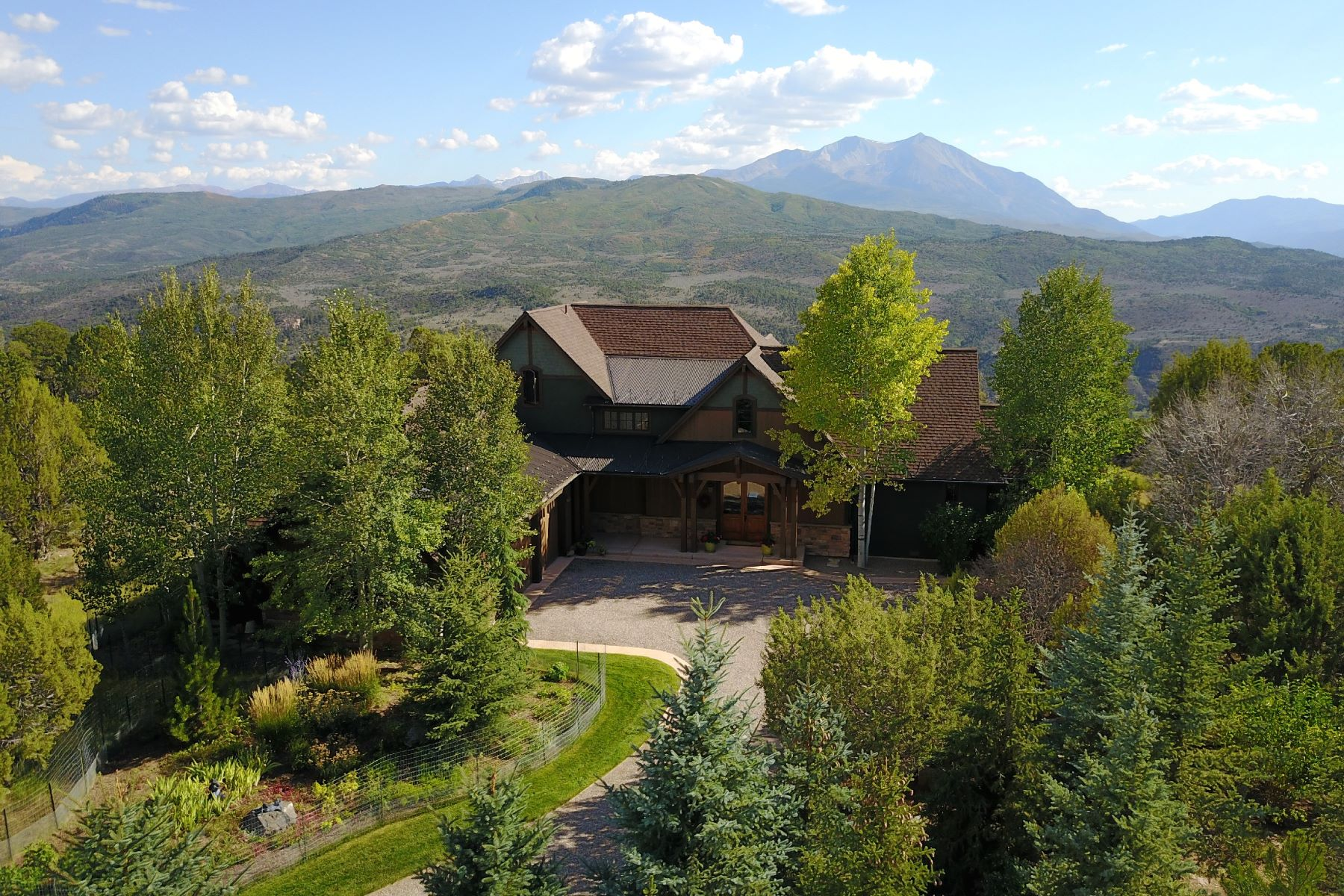 Single Family Home for Active at John Muir Designed Custom Home 407 Skipper Drive Carbondale, Colorado 81623 United States