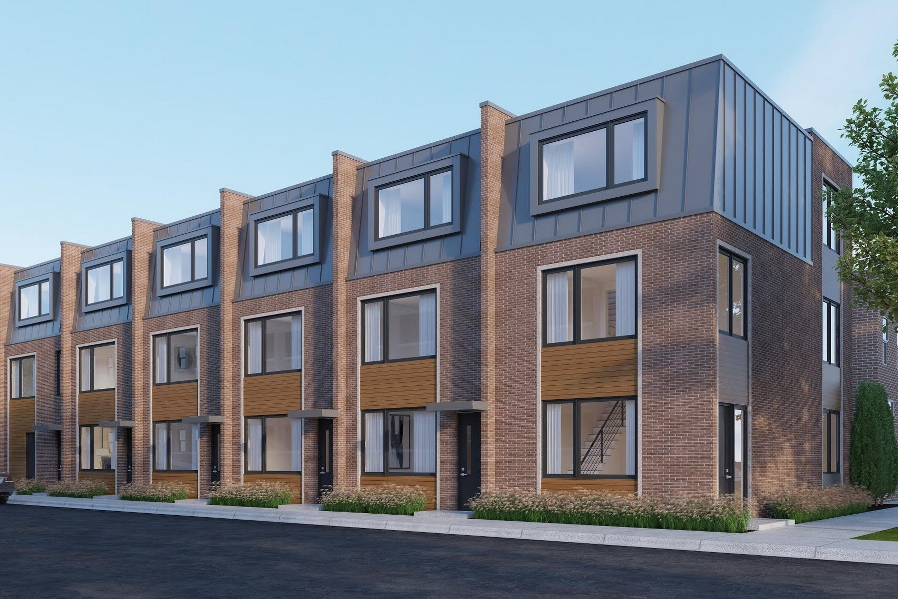 Townhouse for Sale at Logan Row: A Modern New Construction 2735 W Prindiville Street, Logan Square, Chicago, Illinois, 60647 United States