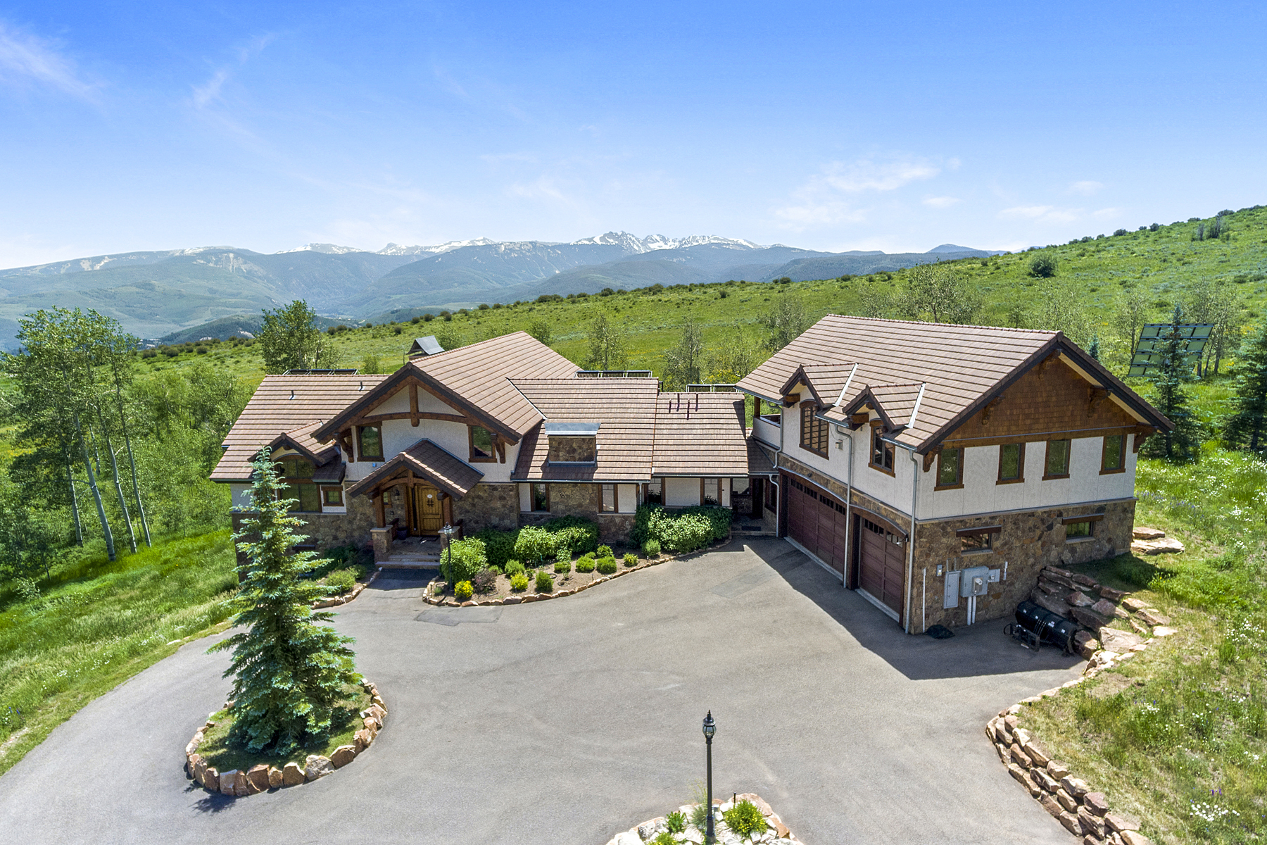 Single Family Homes for Sale at Sweeping views plus acreage on Bellyache Ridge 5458 Bellyache Ridge Rd. Wolcott, Colorado 81655 United States