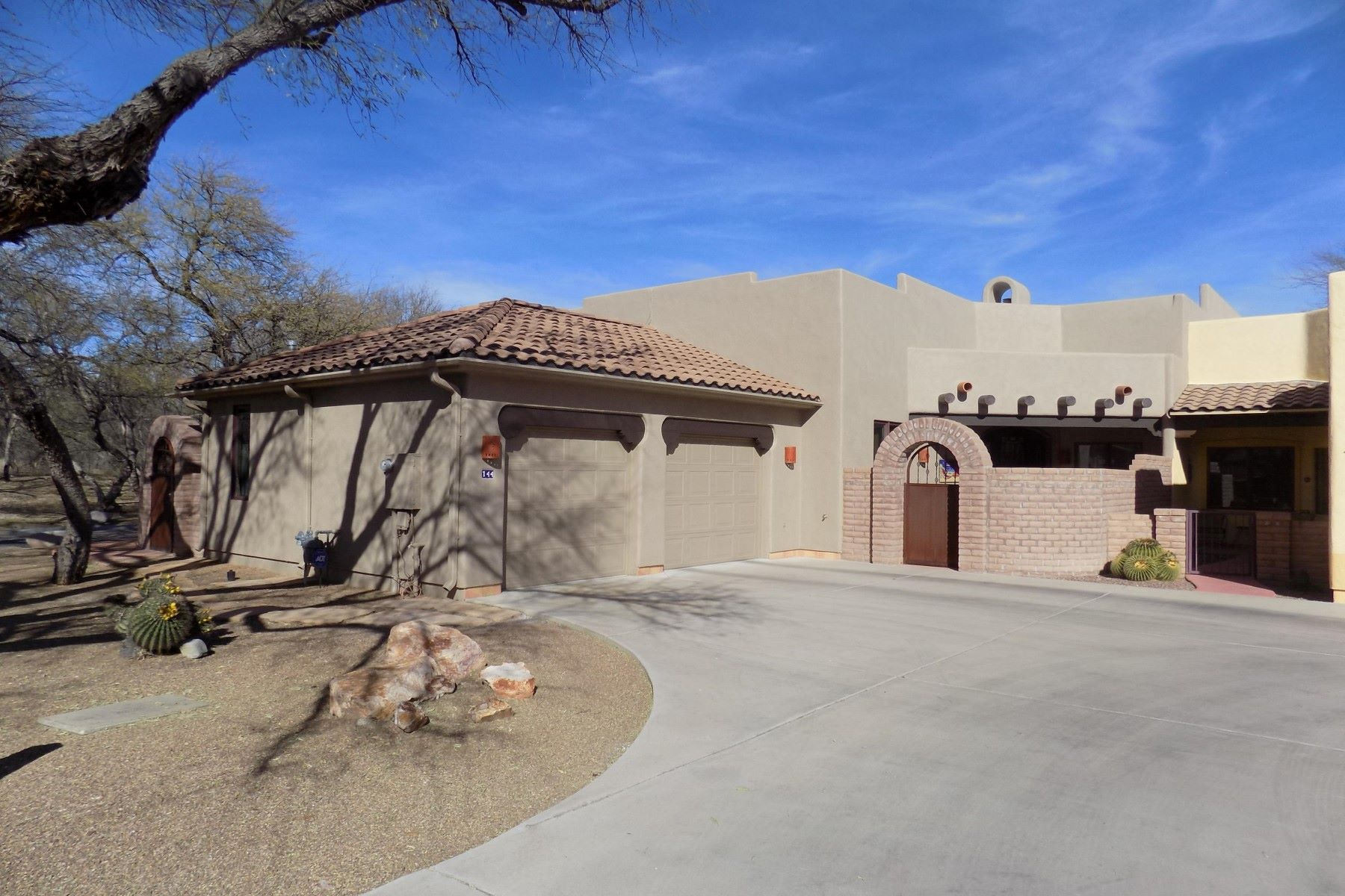 Townhouse for Sale at Beautiful appointed townhome in Santa Cruz 144 Calle Barrio de Tubac Tubac, Arizona, 85646 United States