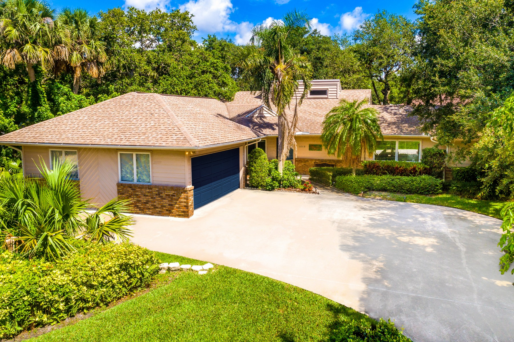 Single Family Home for Sale at Lovely Four Bedroom Home on Vero's Barrier Island 1015 Mangrove Lane Vero Beach, Florida 32963 United States