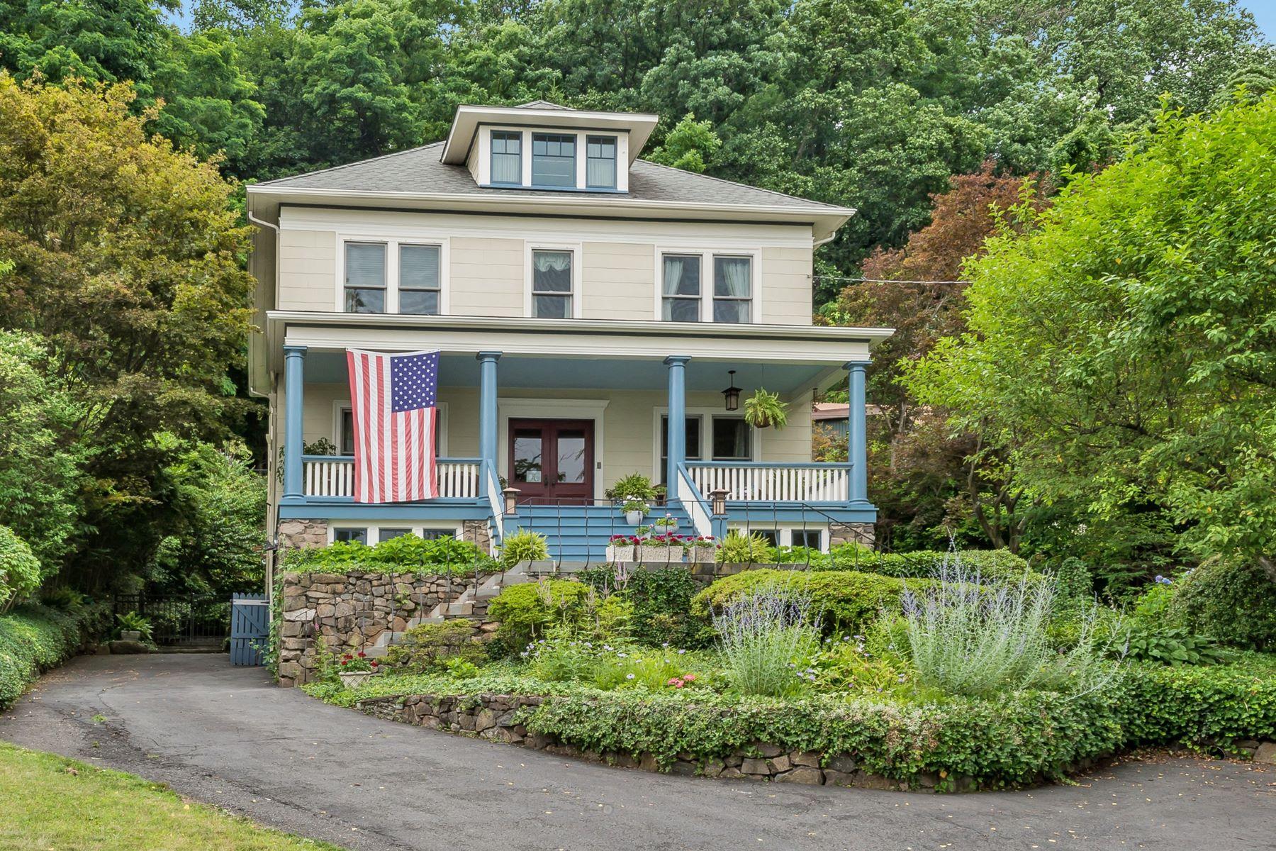 Nhà ở một gia đình vì Bán tại Botanical Oasis By the River 285 River Road Grandview, New York, 10960 Hoa Kỳ
