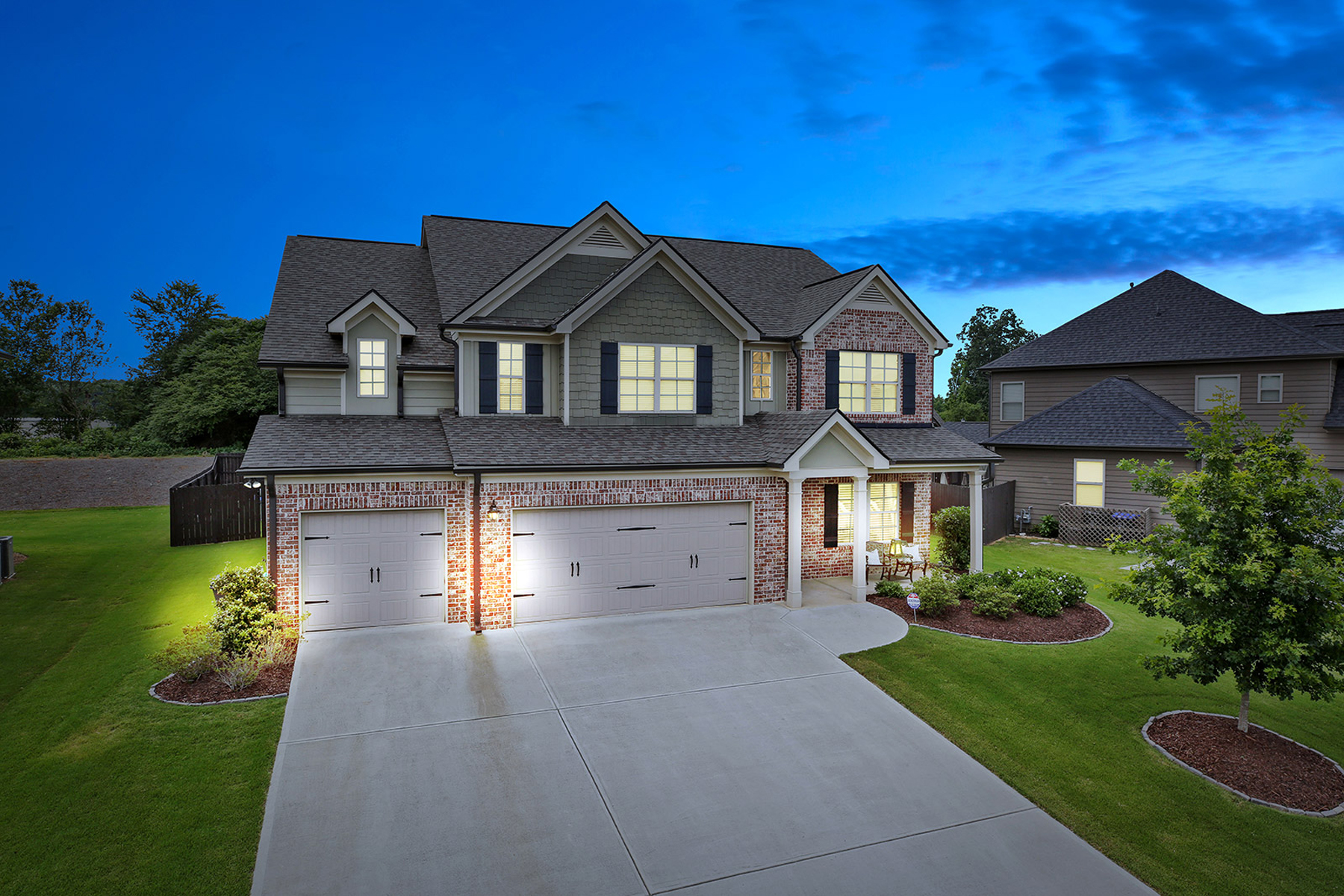 Single Family Home for Sale at Better Than New In Hunters Walk 4220 Standing Rock Way Cumming, Georgia 30028 United States