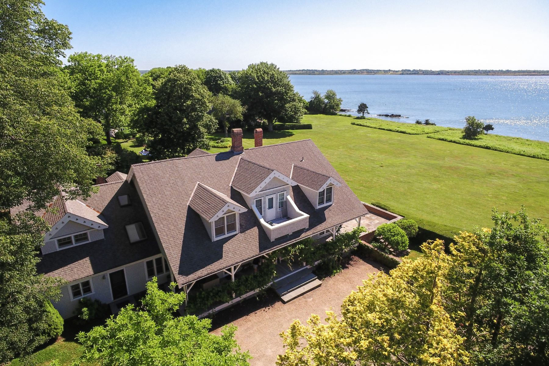 Single Family Homes for Sale at Indian Avenue Waterfront 561 Indian Avenue Middletown, Rhode Island 02842 United States