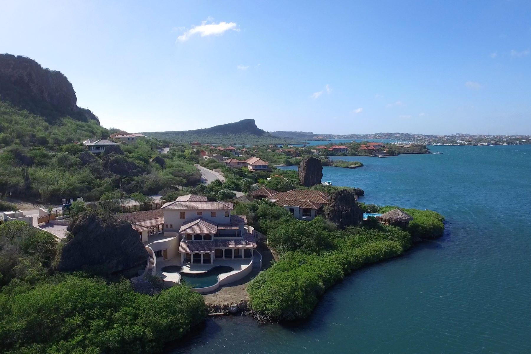 Single Family Home for Sale at Seru Boca Estate Waterfront Villa 4 Willemstad, Curacao