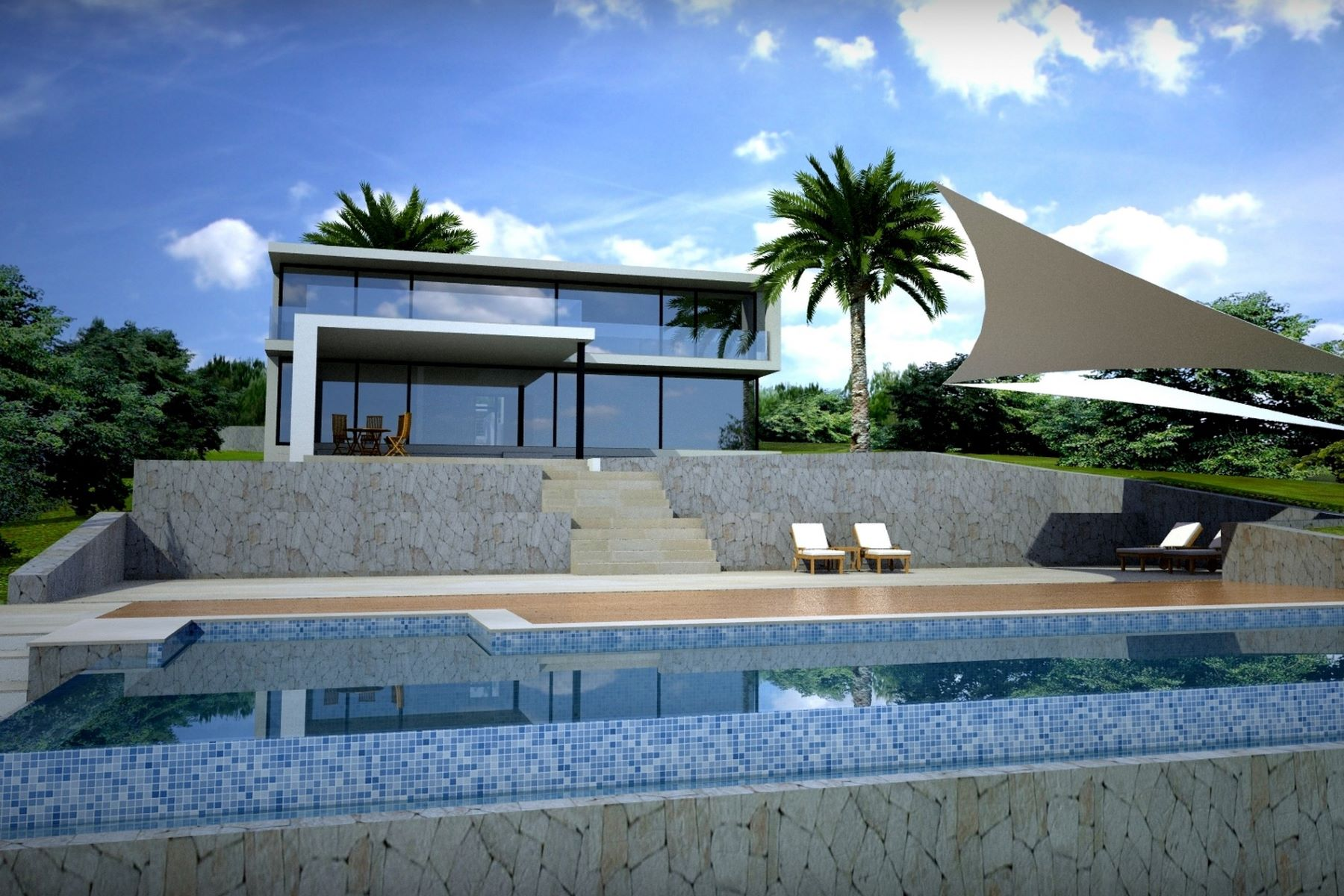 Single Family Home for Sale at Project with sea access in Porto Petro Santanyi, Mallorca, 07650 Spain