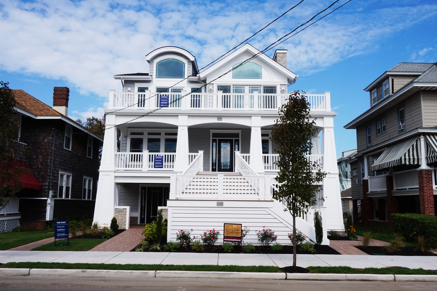 Condominium for Sale at New Construction 1008 Ocean Avenue Unit A Ocean City, New Jersey 08226 United States