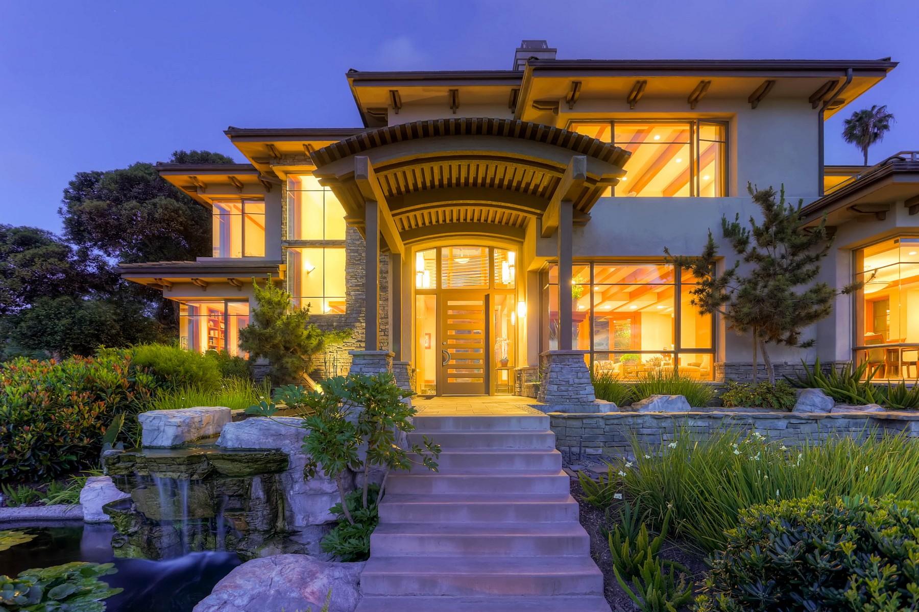 Moradia para Venda às 2480 Hidden Valley Road La Jolla, Califórnia, 92037 Estados Unidos