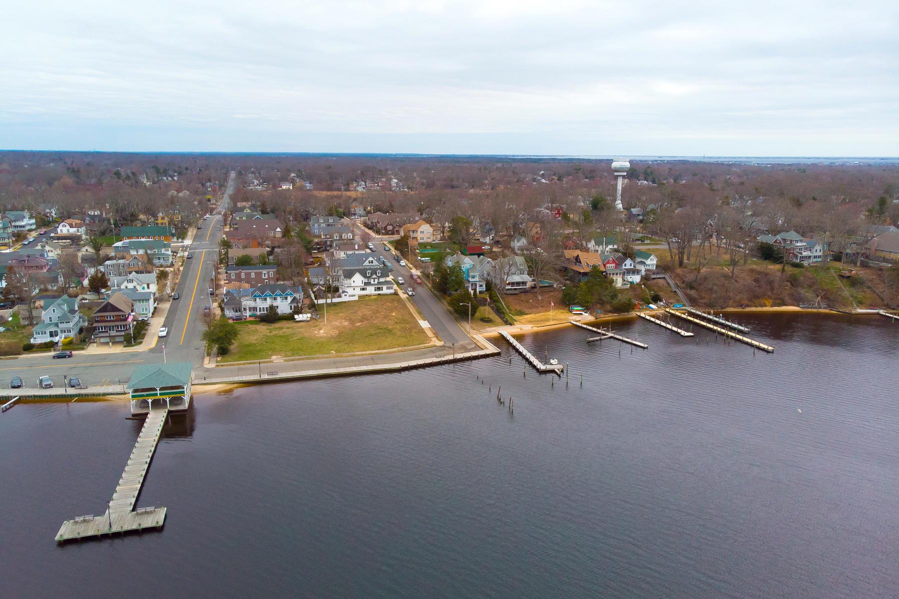 Terrain pour l Vente à Fabulous Panoramic Water Views 5 Simpson Avenue, Island Heights, New Jersey 08732 États-Unis