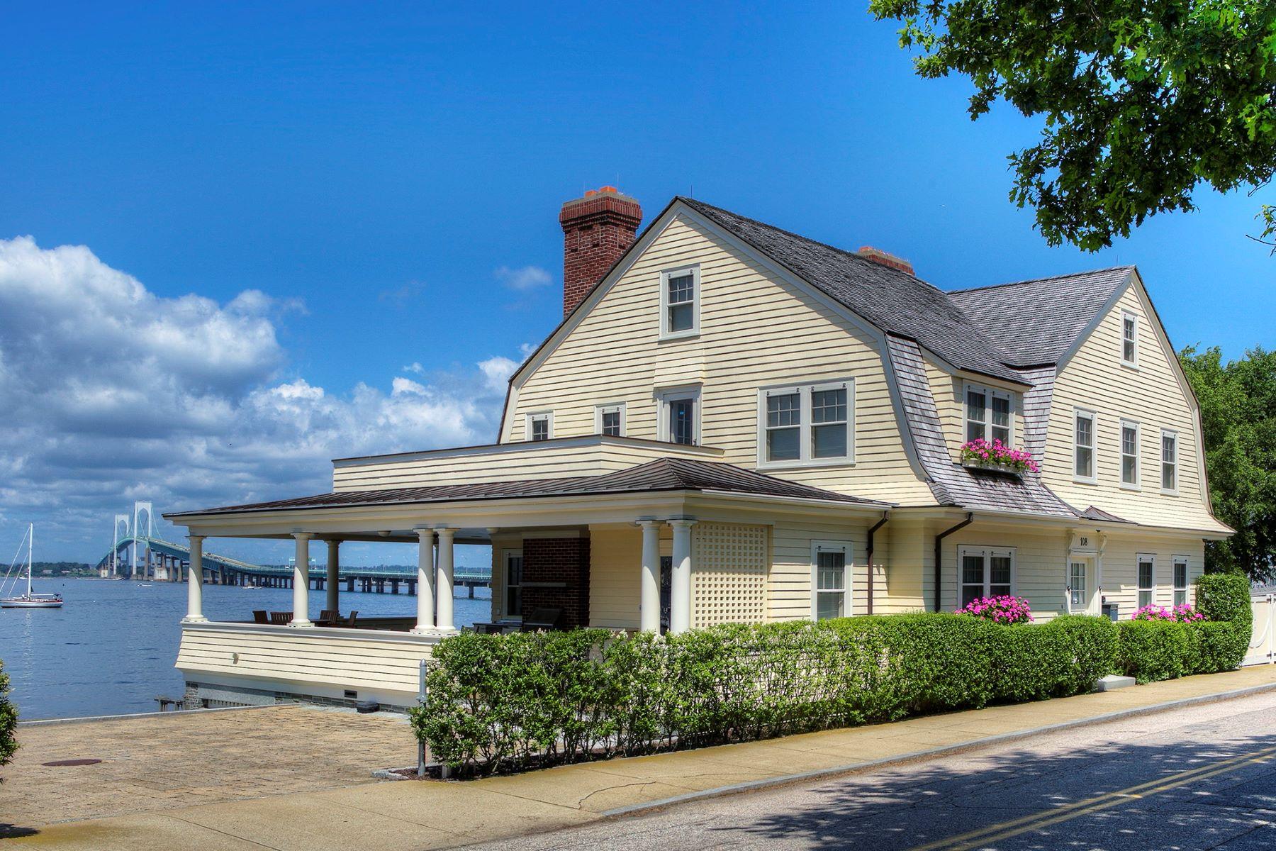 Single Family Homes για την Πώληση στο Waterfront on The Point 108 Washington Street, Newport, Ροουντ Αϊλαντ 02840 Ηνωμένες Πολιτείες
