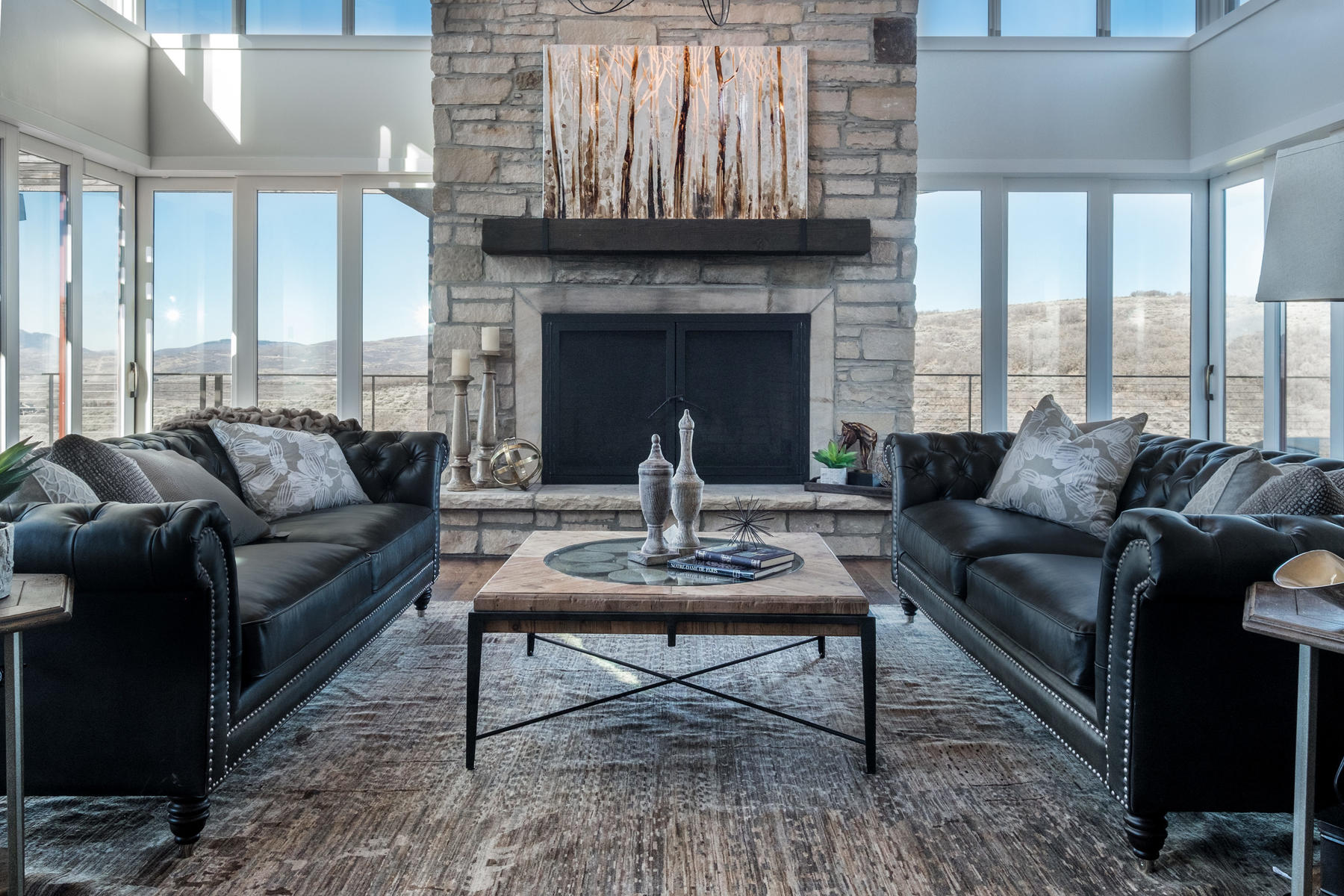 Single Family Home for Sale at Best Views in Promontory, One of Clive Bridgwater's Finest 8293 N Ranch Garden Rd Park City, Utah 84098 United States
